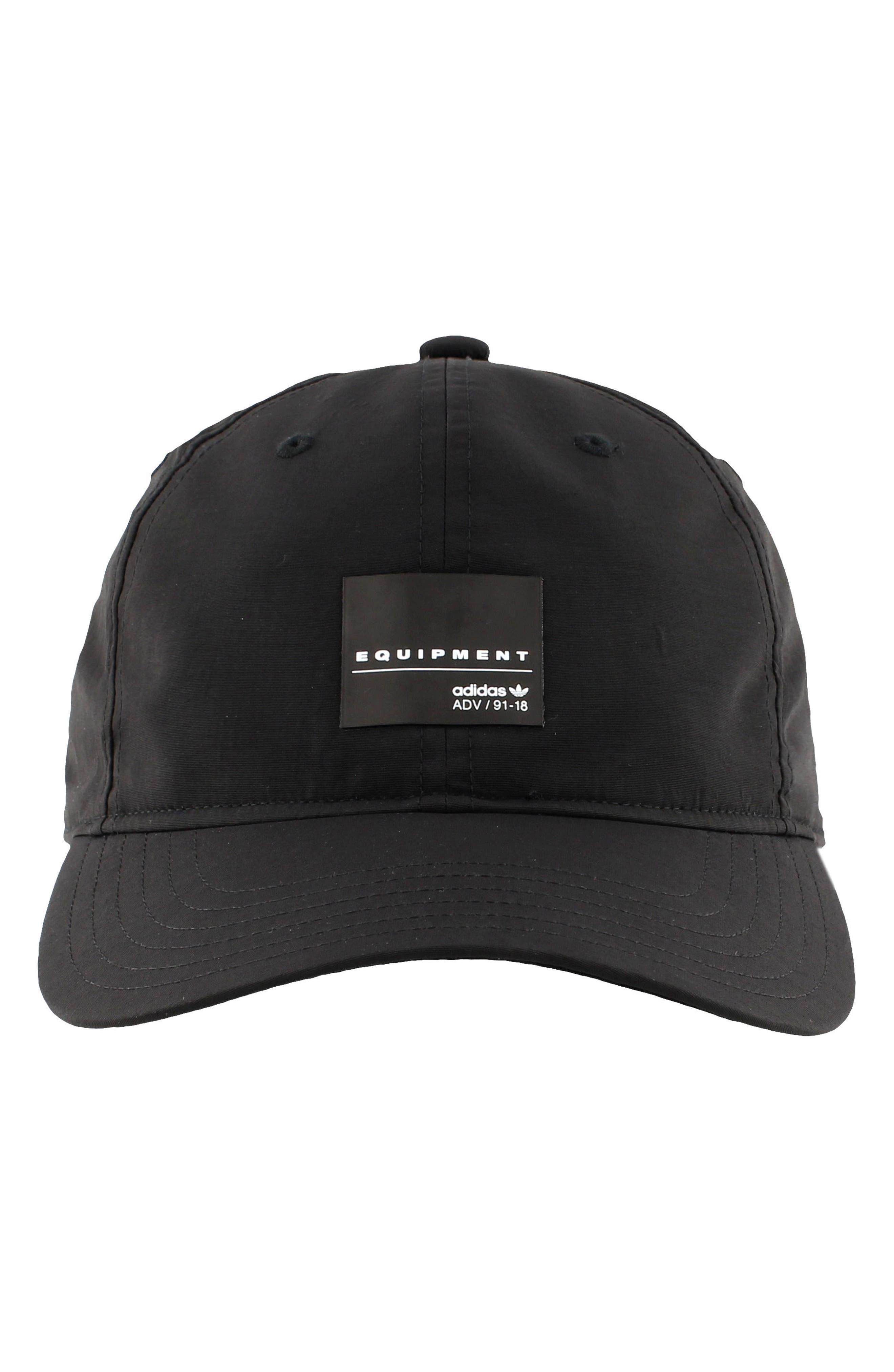 EQT Label Ball Cap,                             Alternate thumbnail 4, color,                             Black/ White