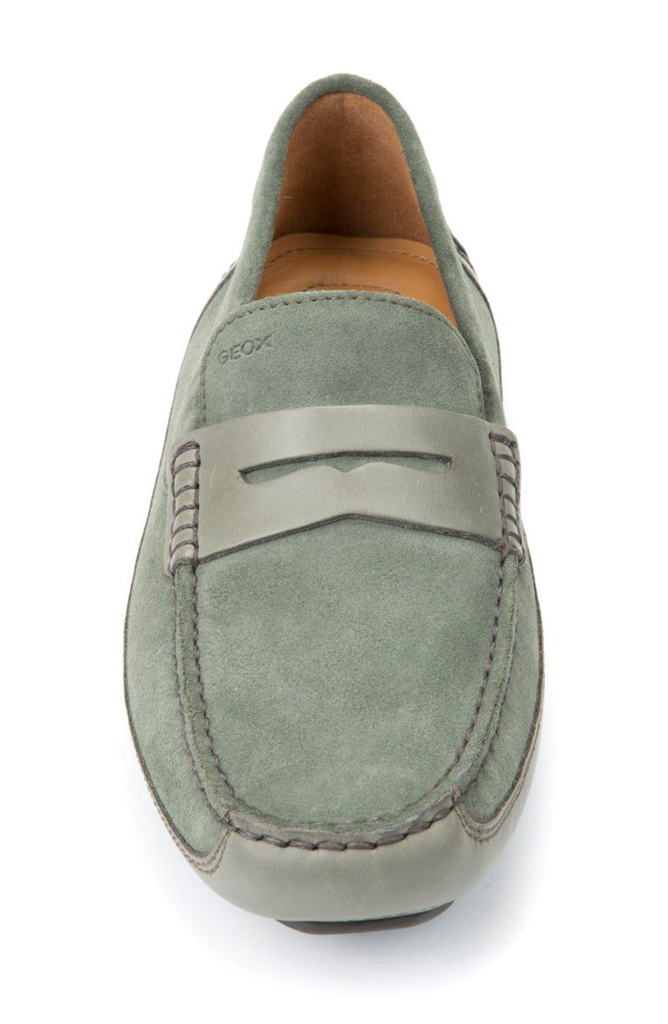 Melbourne 4 Driving Loafer,                             Alternate thumbnail 4, color,                             Sage