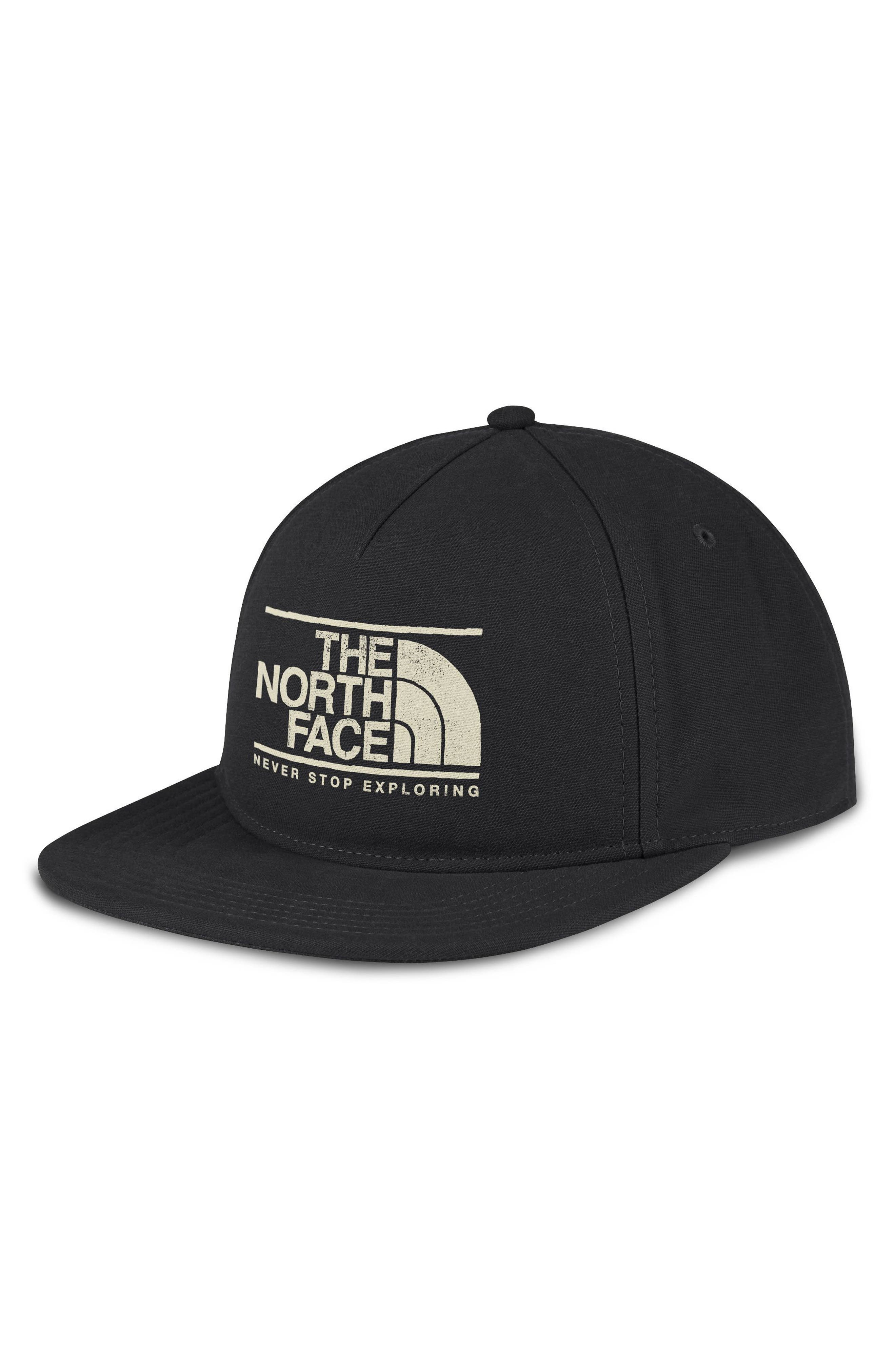 Alternate Image 1 Selected - The North Face Sunwashed Logo Ball Cap