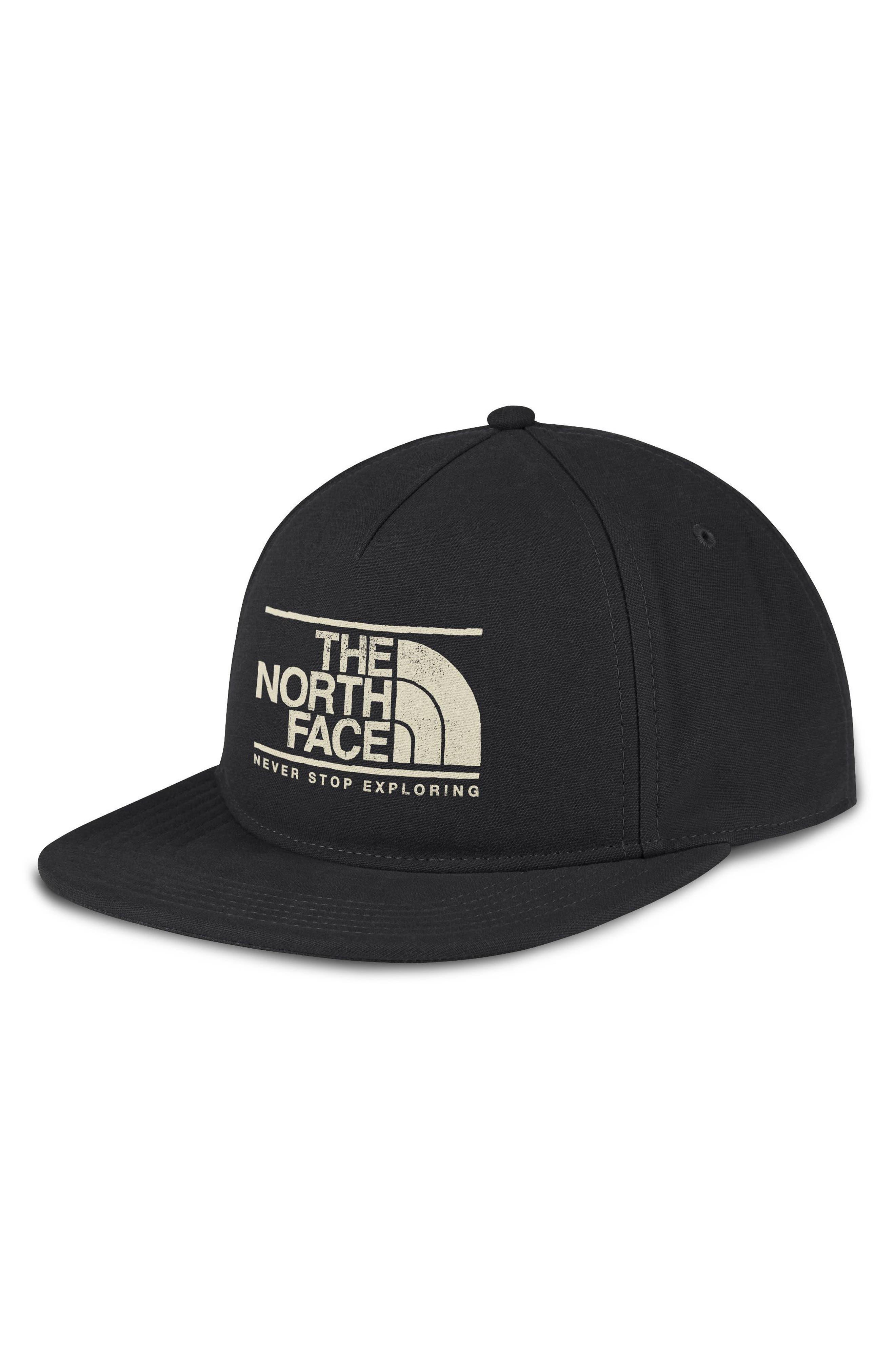 Main Image - The North Face Sunwashed Logo Ball Cap