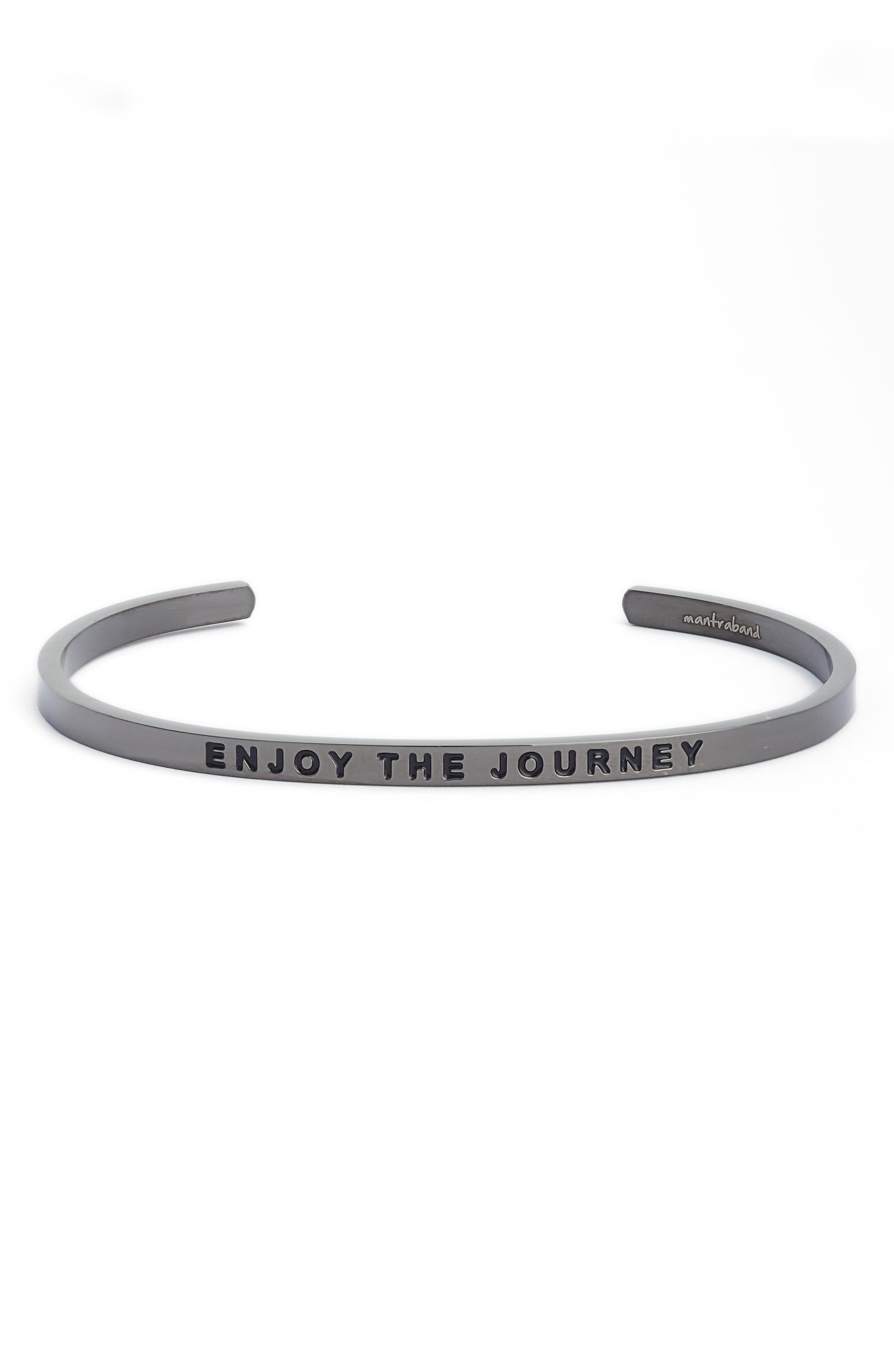 MantraBand® Enjoy the Journey Cuff Bracelet