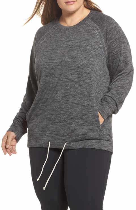 Zella Draw Em In Pullover (Plus Size)