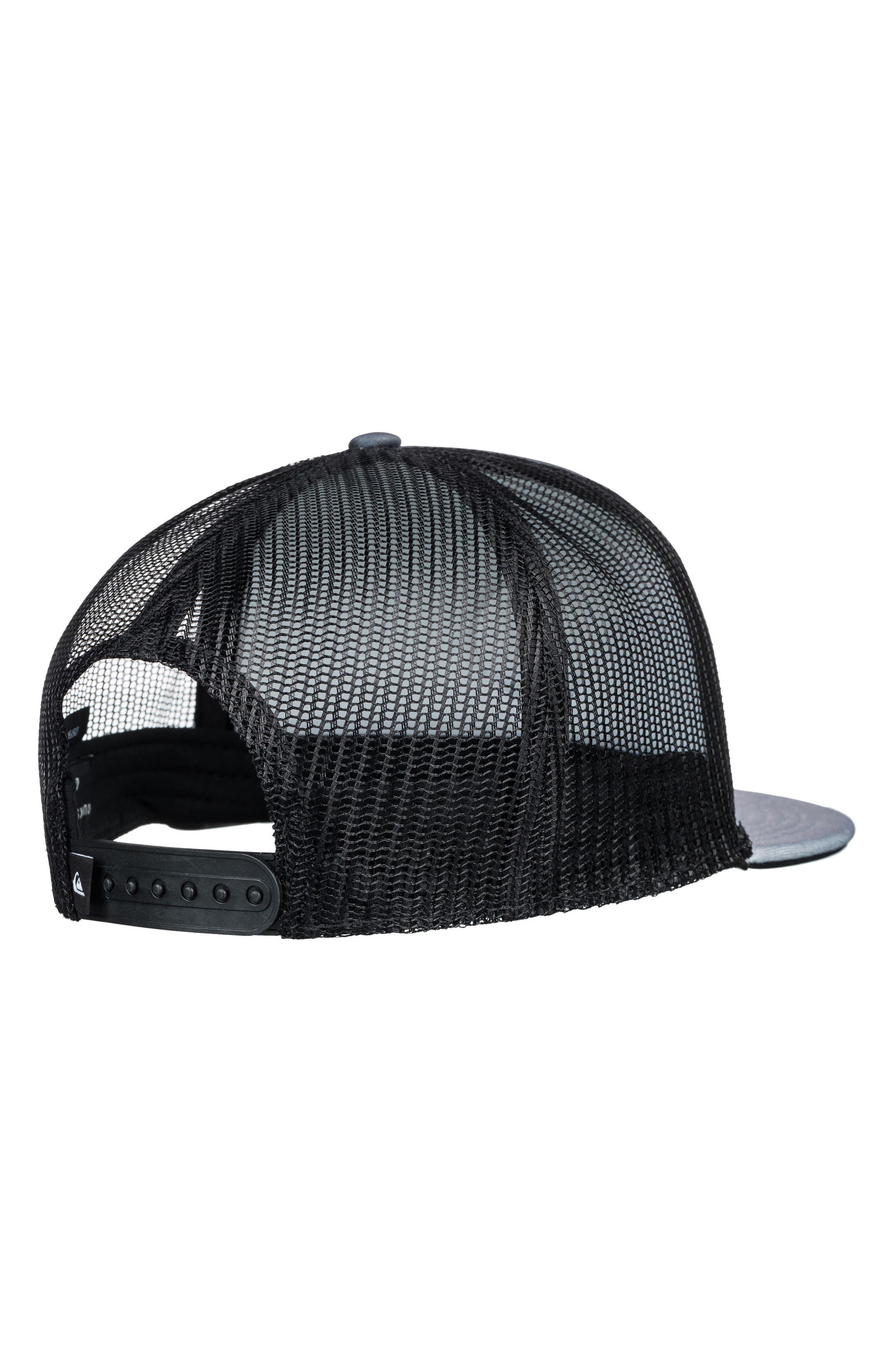 Vixten Trucker Hat,                             Alternate thumbnail 2, color,                             Iron Gate