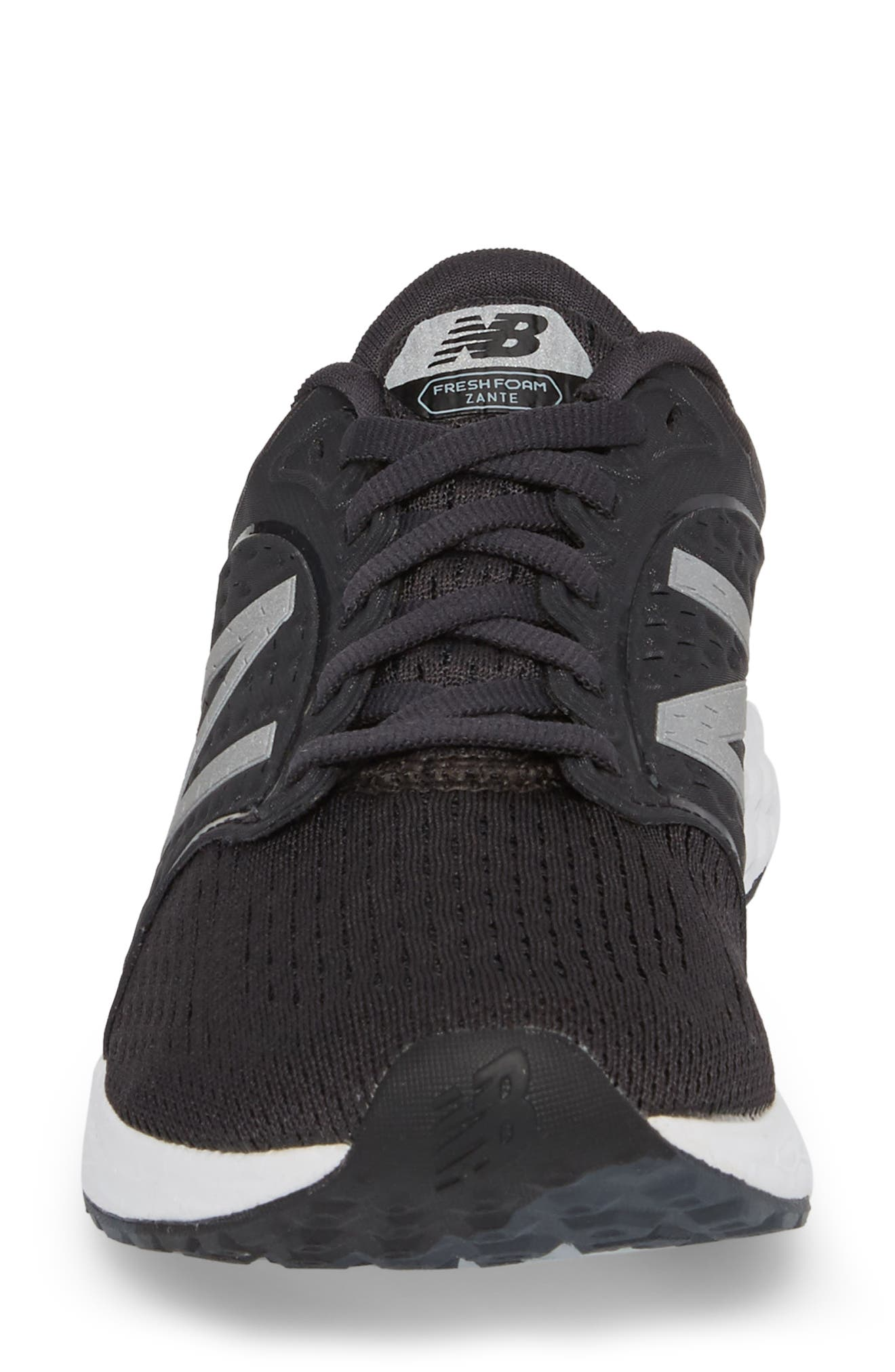 Fresh Foam Zante v4 Running Shoe,                             Alternate thumbnail 4, color,                             Black
