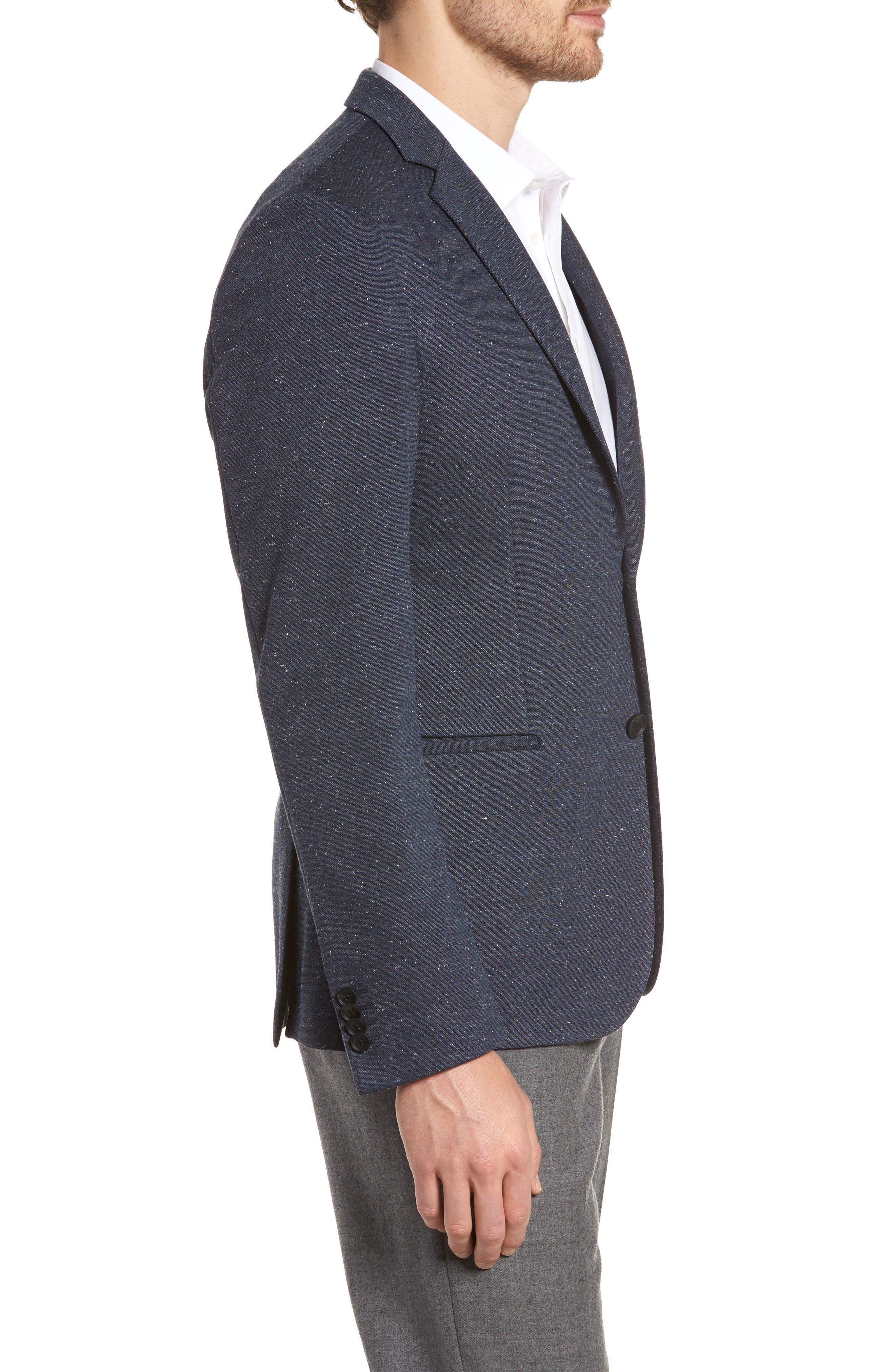 Alternate Image 3  - BOSS Norwin Trim Fit Stretch Blazer