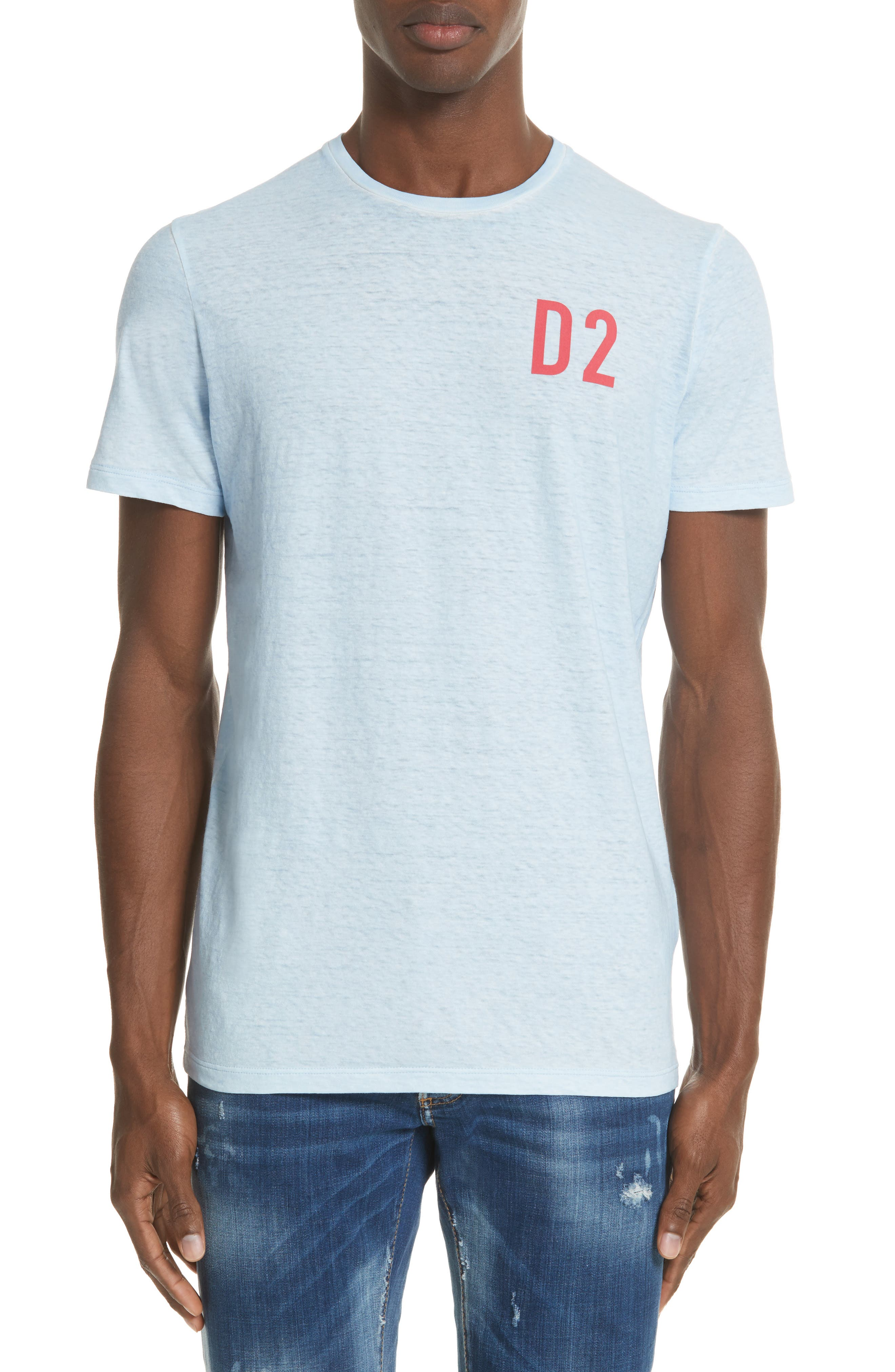 Alternate Image 1 Selected - Dsquared2 D2 Logo Graphic T-Shirt