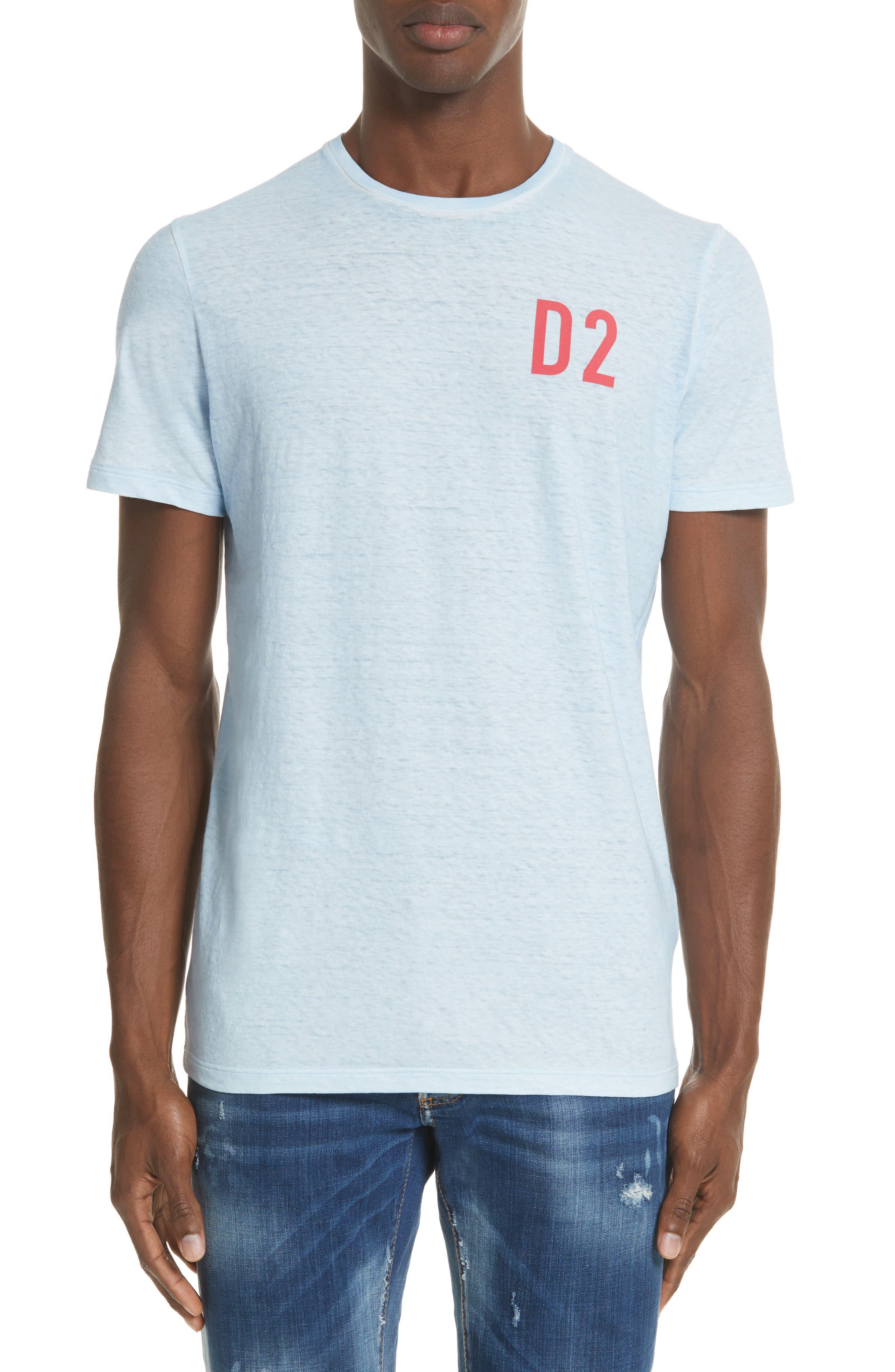 Dsquared2 D2 Logo Graphic T-Shirt