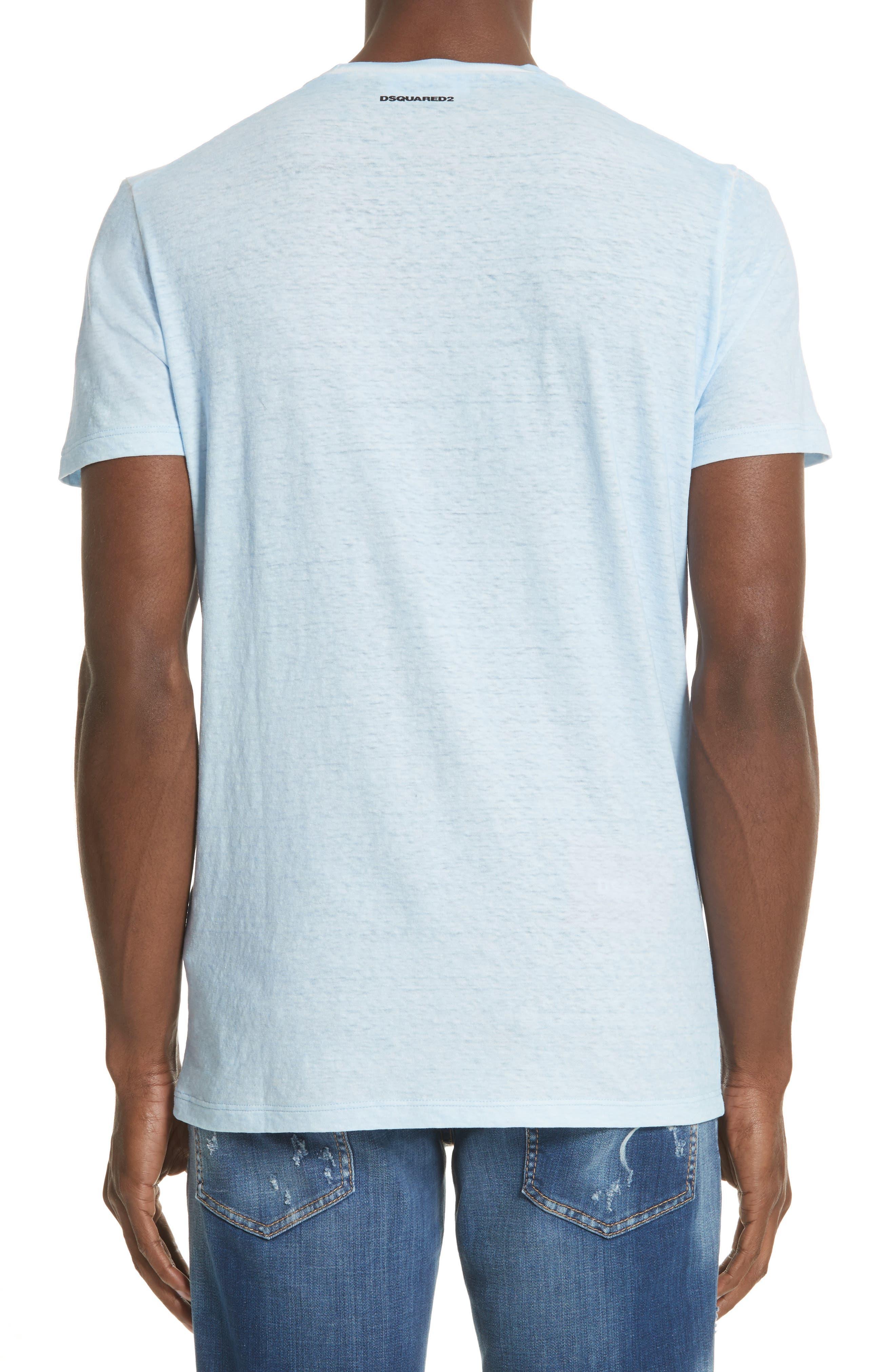 Alternate Image 2  - Dsquared2 D2 Logo Graphic T-Shirt
