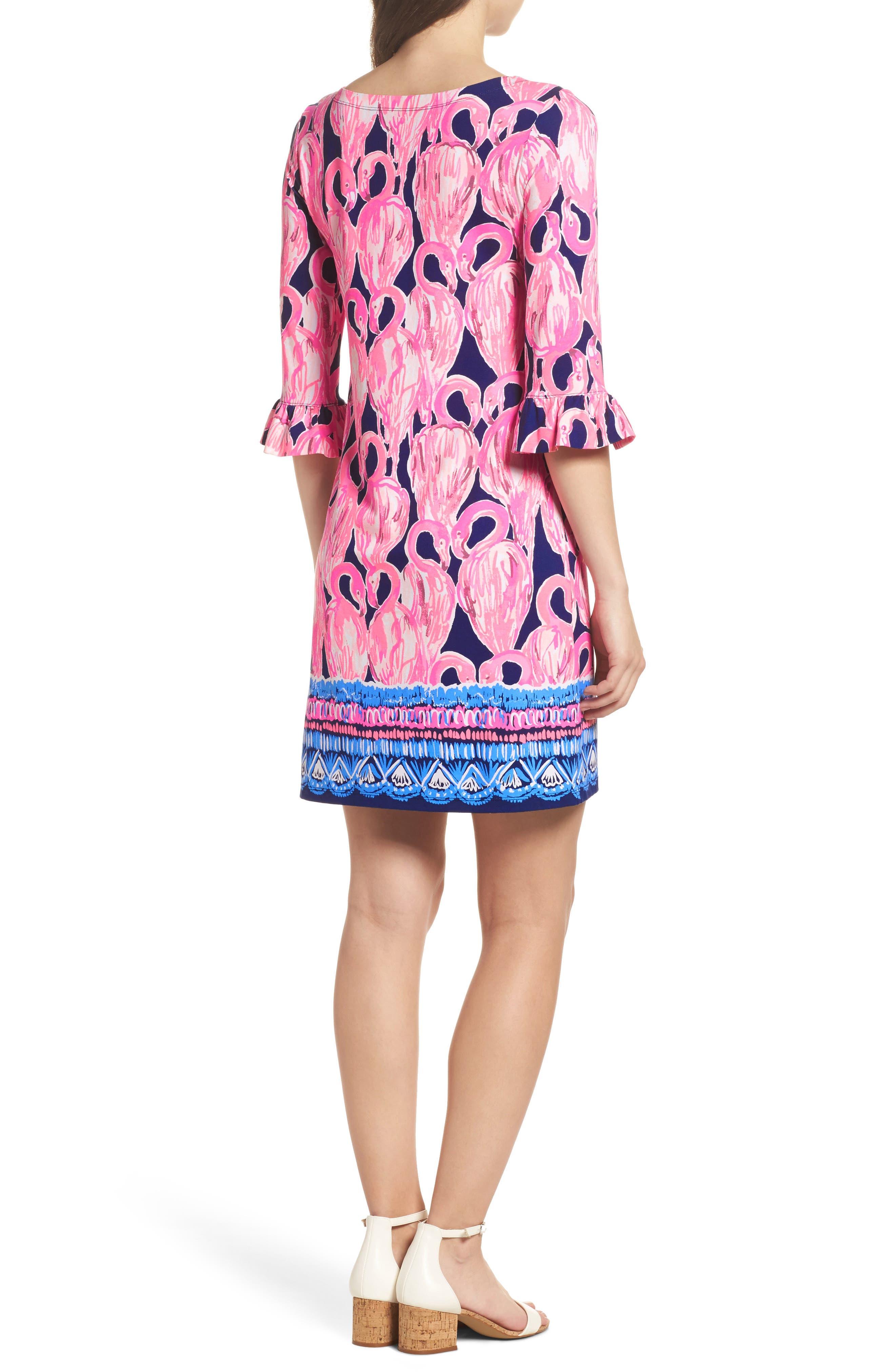 Sophie UPF 50+ Shift Dress,                             Alternate thumbnail 2, color,                             High Tide Via Amor