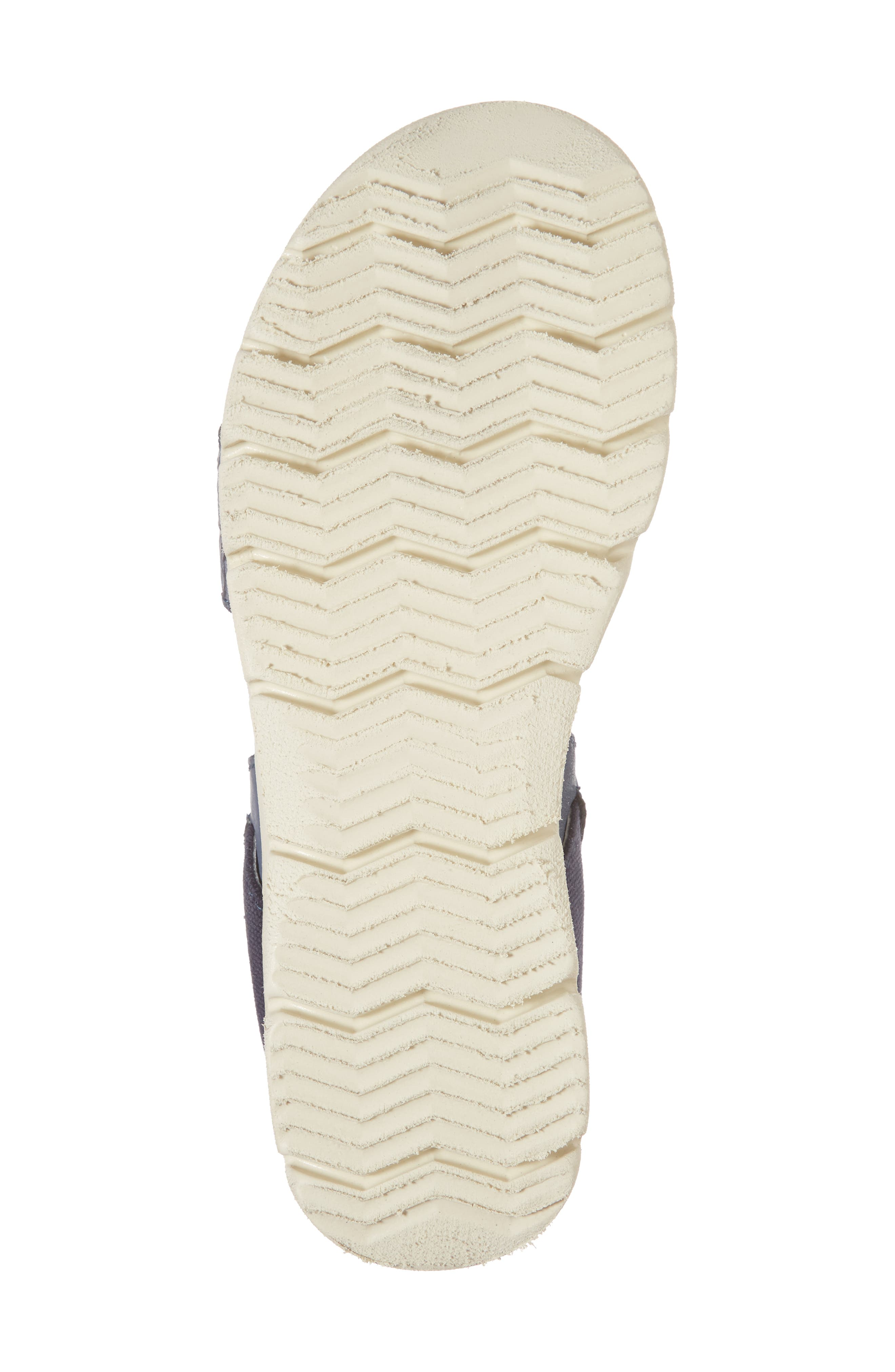 Nova Platform Sandal,                             Alternate thumbnail 6, color,                             Navy Leather