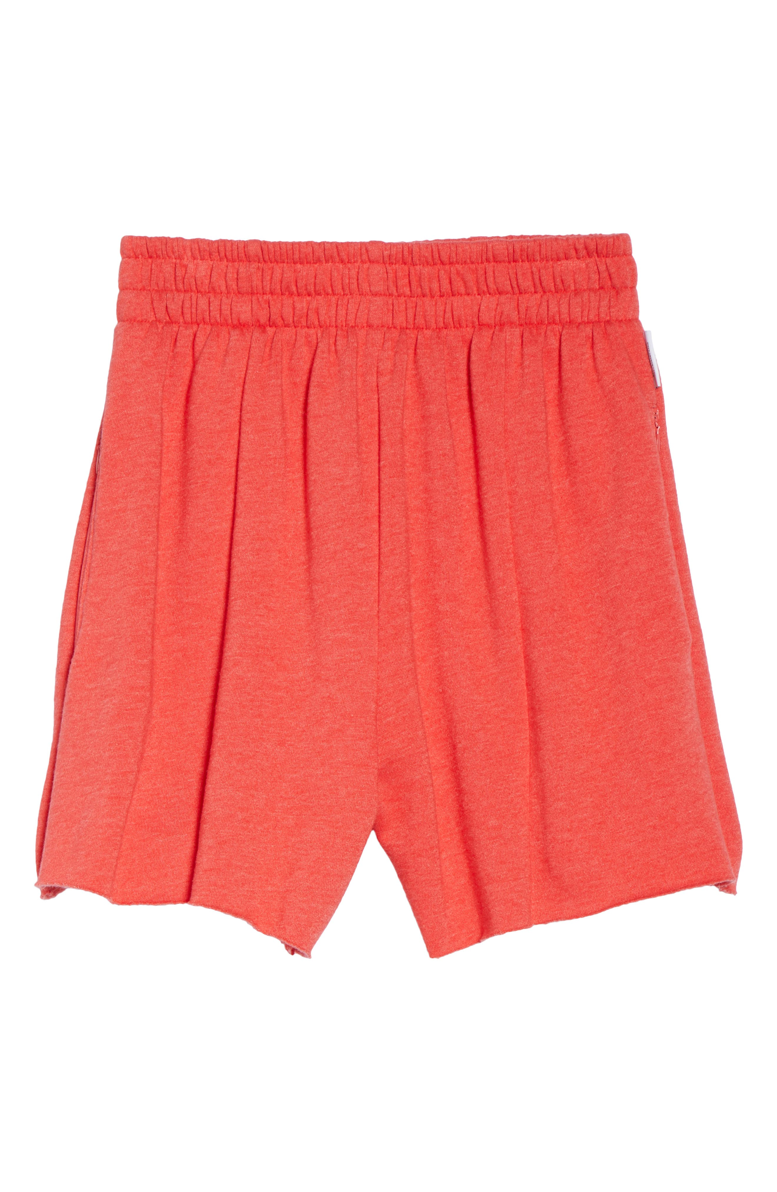 Bermuda Lounge Shorts,                             Alternate thumbnail 6, color,                             Love Red