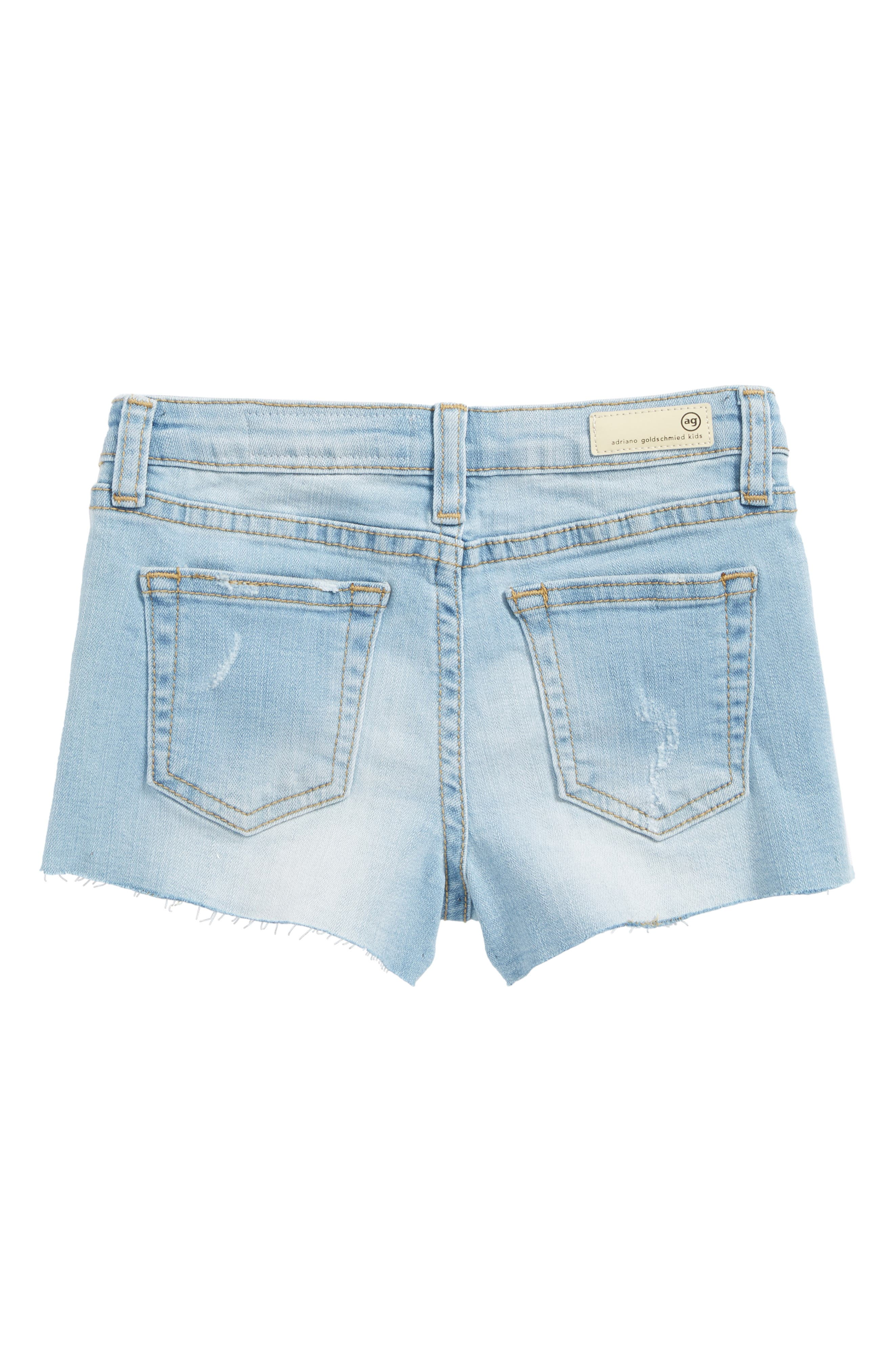 Alternate Image 2  - ag adriano goldschmied kids The Shelby Cutoff Shorts (Toddler Girls & Little Girls)