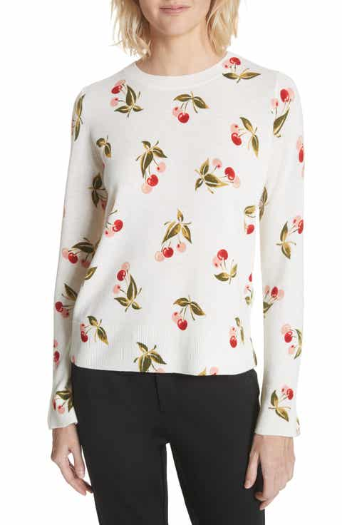 Joie Print Cashmere Sweater