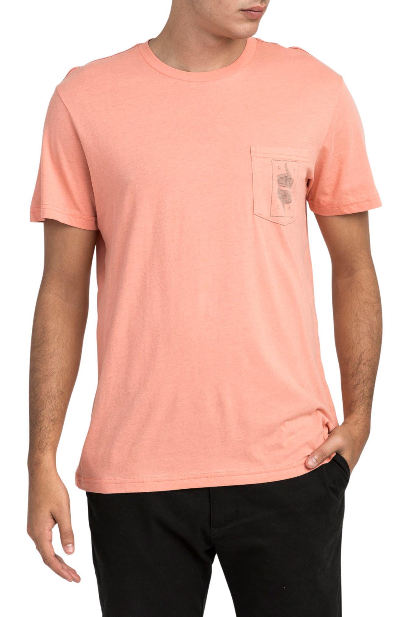 Main Image - RVCA Thumbs Up T-Shirt