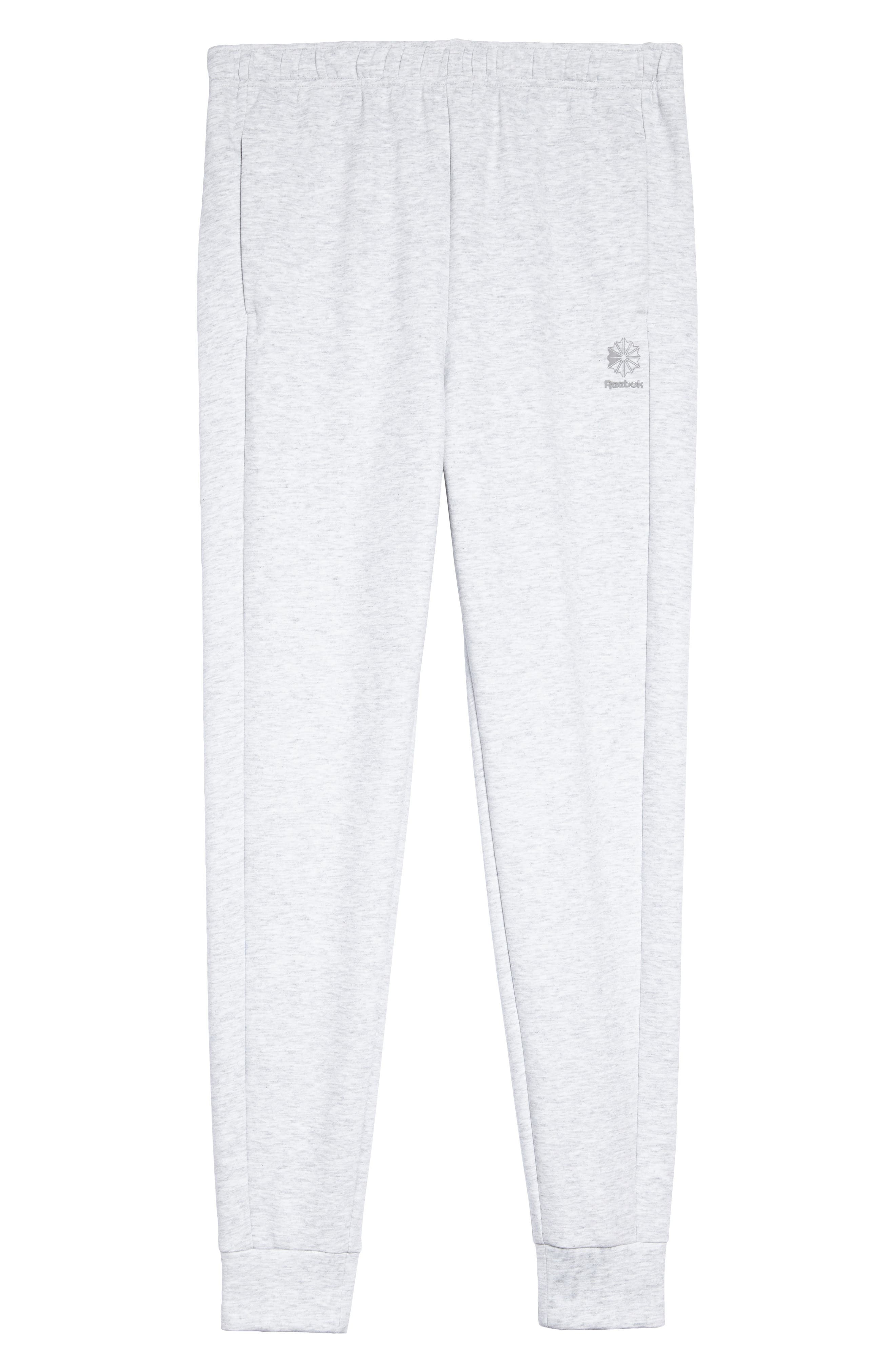 Classic Dynamic Knit Jogger Pants,                             Alternate thumbnail 6, color,                             Light Grey Heather