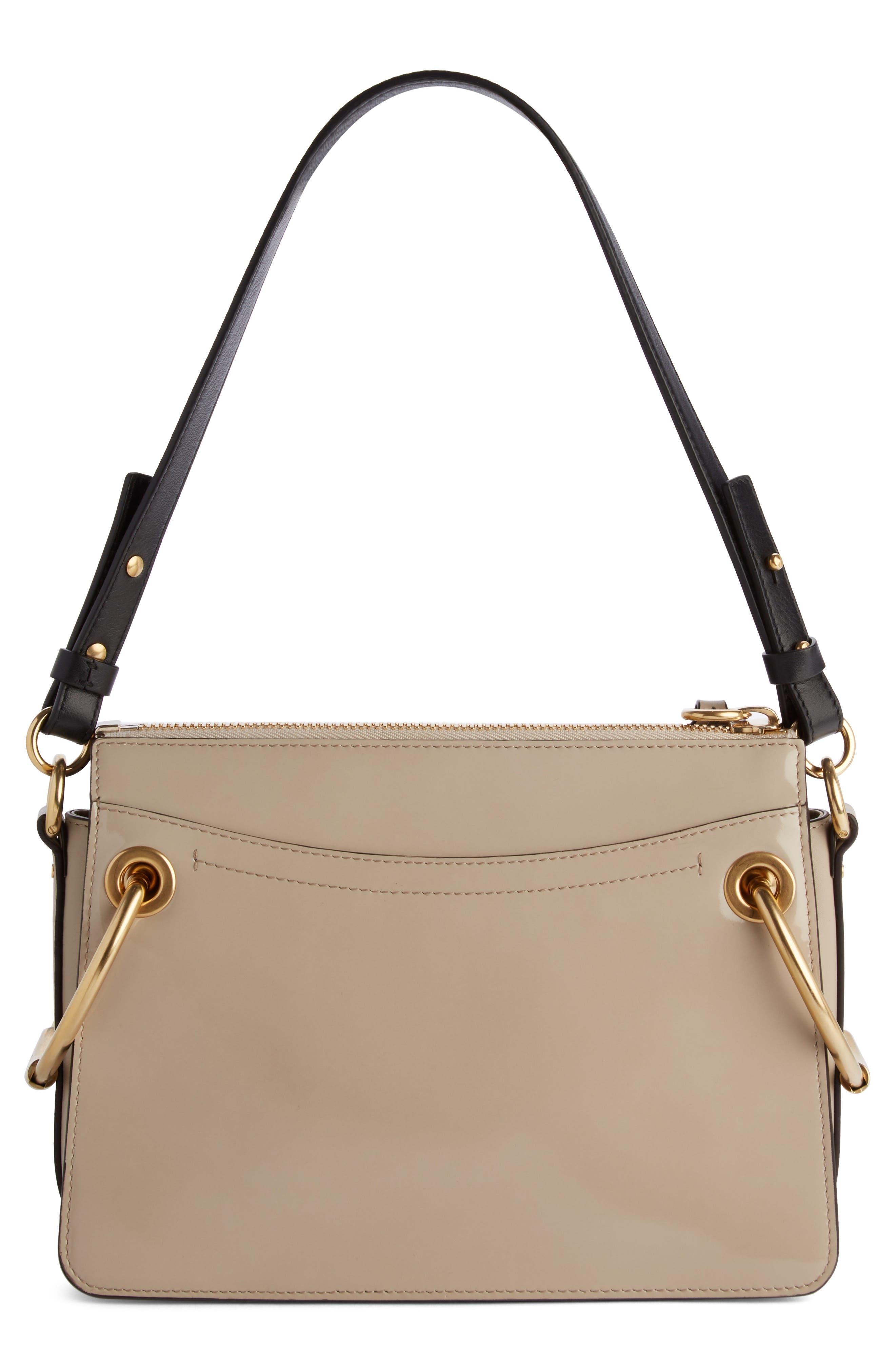 Large Roy Leather Shoulder Bag,                             Alternate thumbnail 2, color,                             Pastel Grey