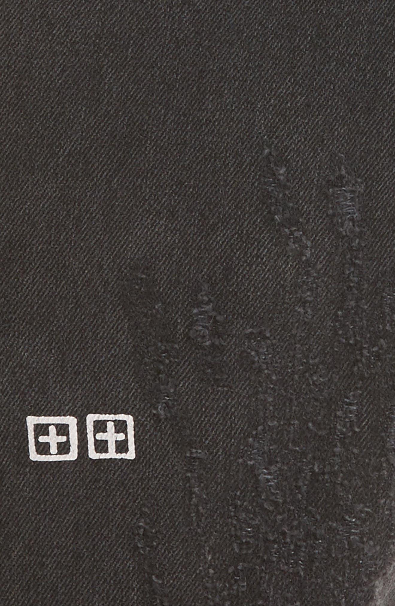 Chitch Chop Rat Attack Jeans,                             Alternate thumbnail 5, color,                             Black