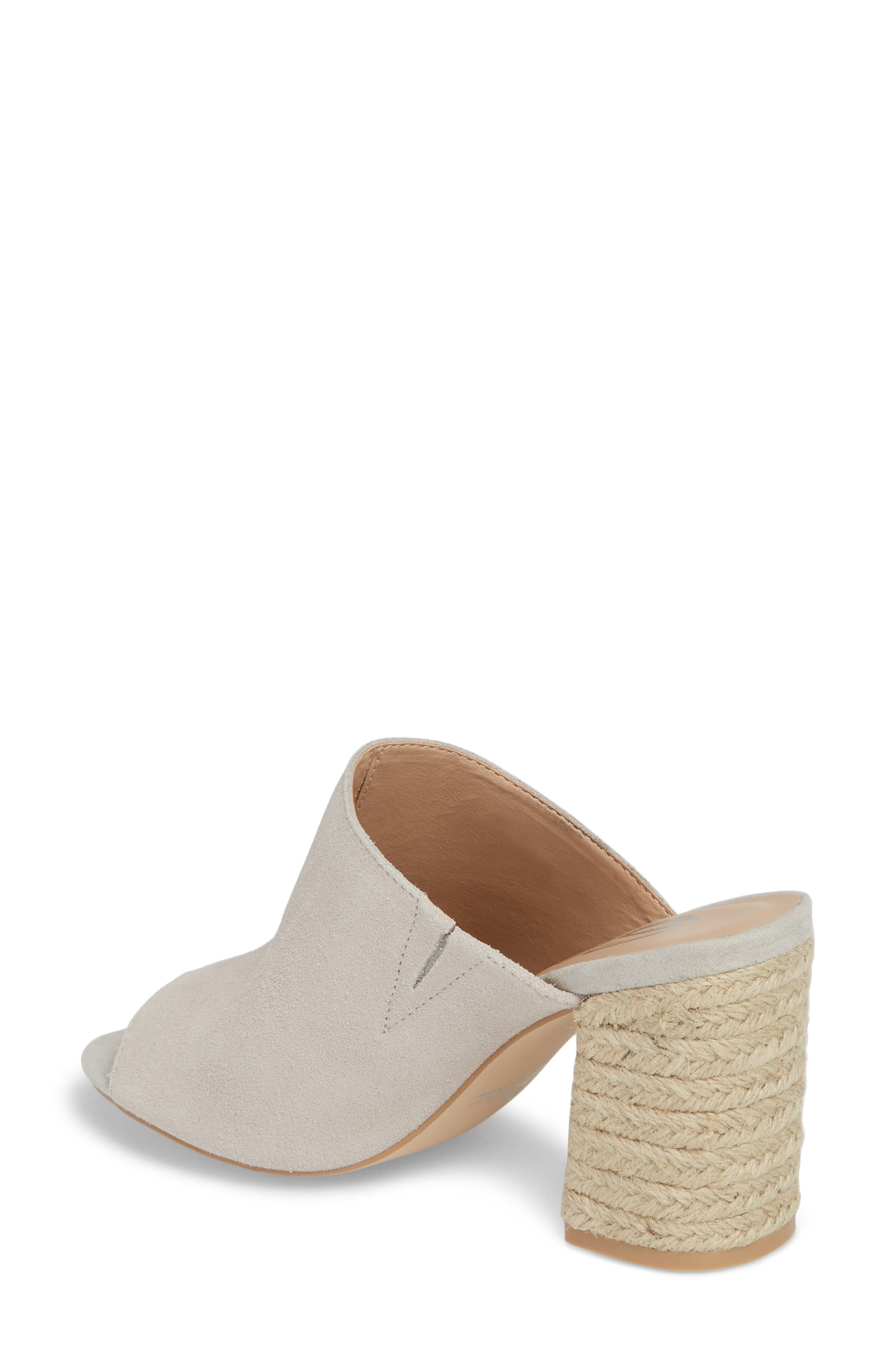 Helena Sandal,                             Alternate thumbnail 2, color,                             Ice Suede/ Leather