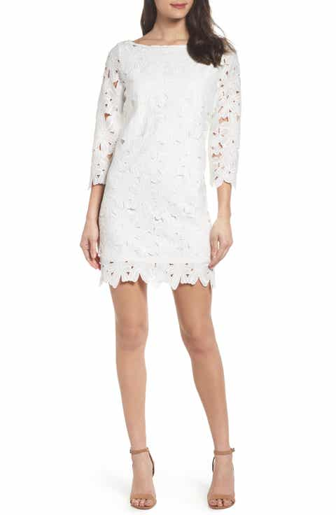 Free shipping and returns on White Wedding-Guest Dresses at Nordstrom.com.
