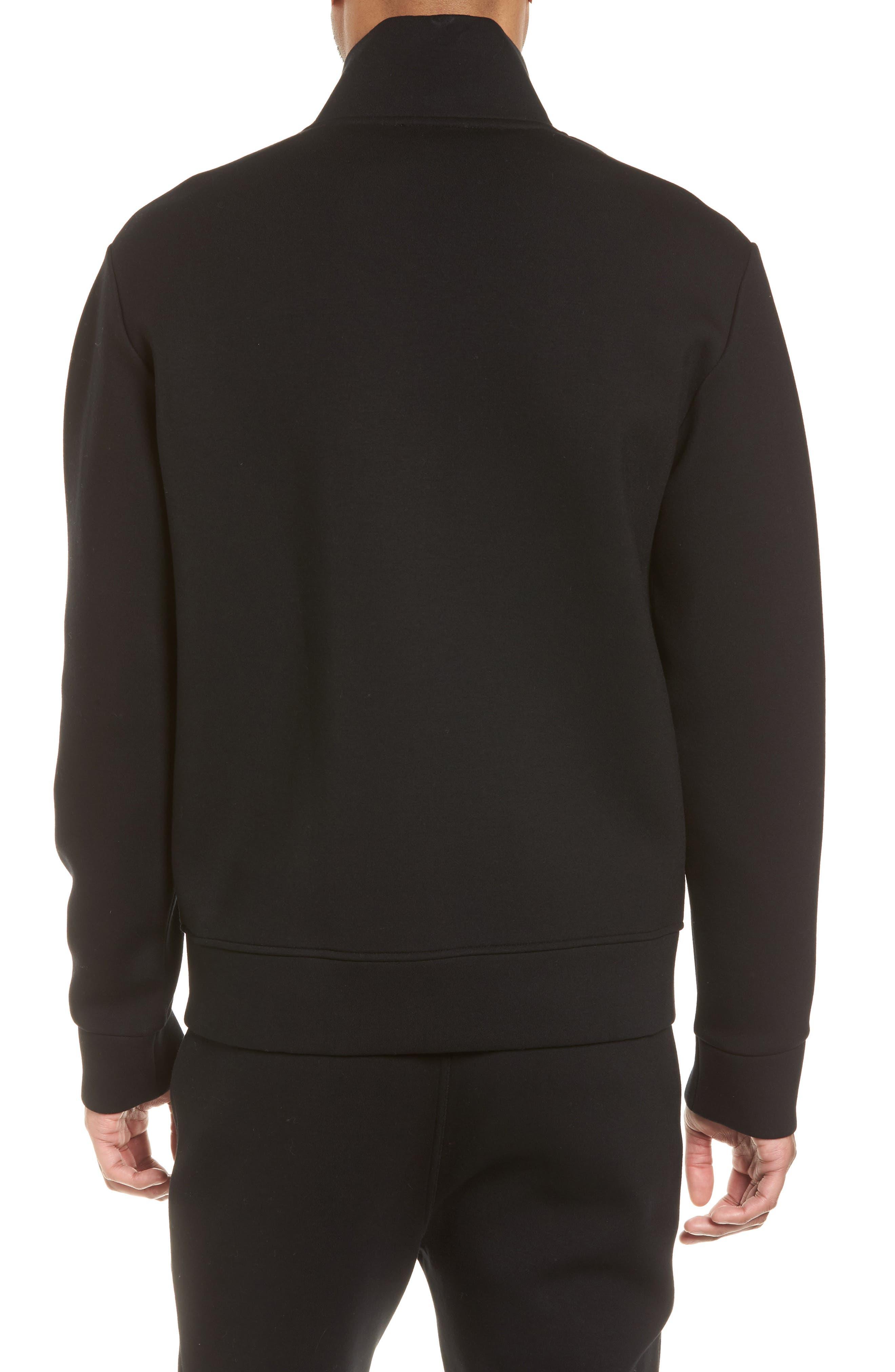 Slim Fit Tech Jacket,                             Alternate thumbnail 2, color,                             Black
