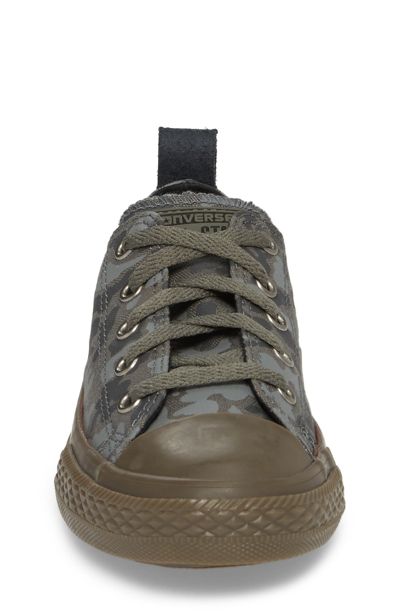 Chuck Taylor<sup>®</sup> All Star<sup>®</sup> Camo Ox Low Top Sneaker,                             Alternate thumbnail 4, color,                             Mason