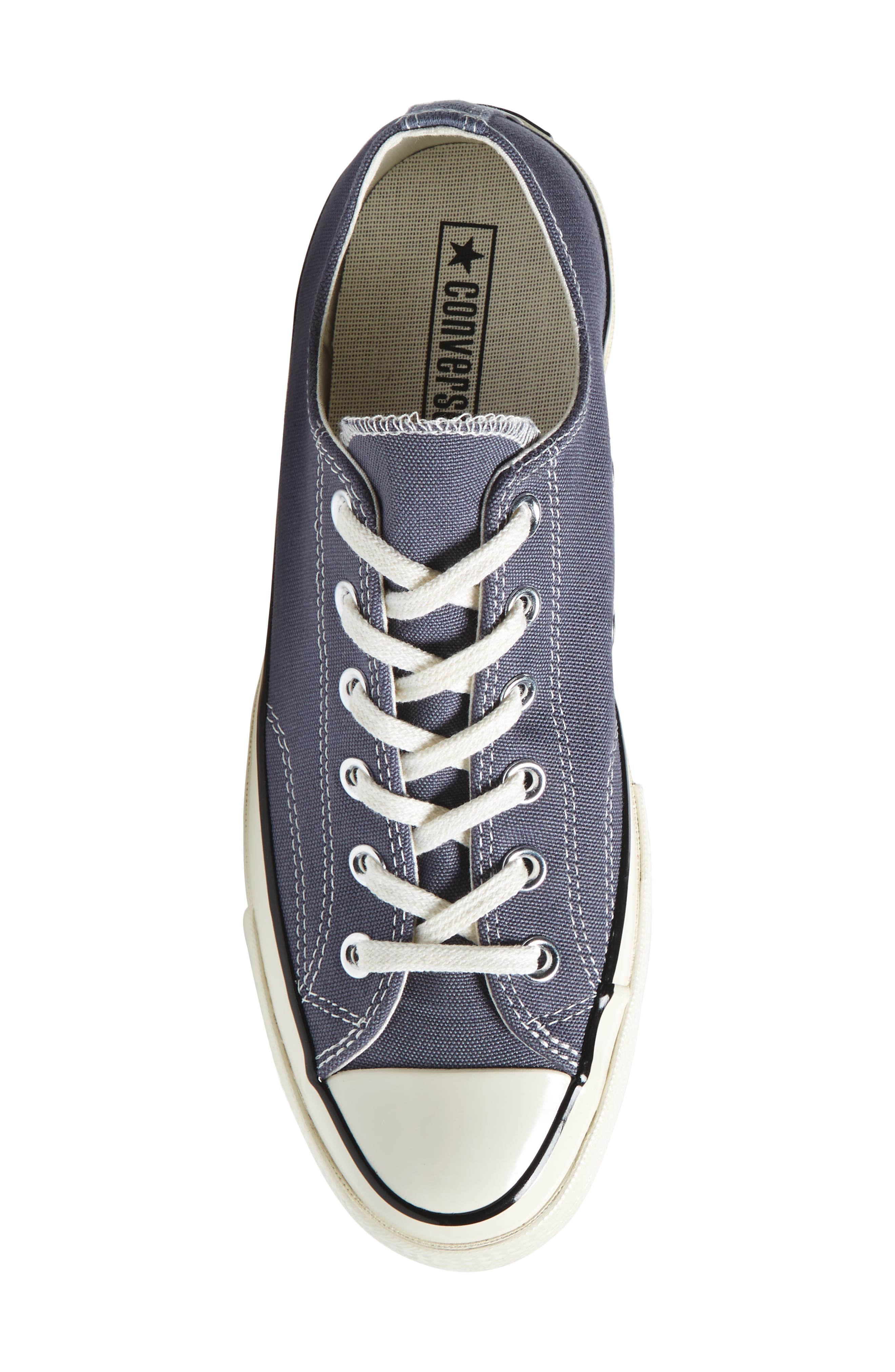Chuck Taylor<sup>®</sup> All Star<sup>®</sup> 70 Heritage Sneaker,                             Alternate thumbnail 5, color,                             Light Carbon Canvas