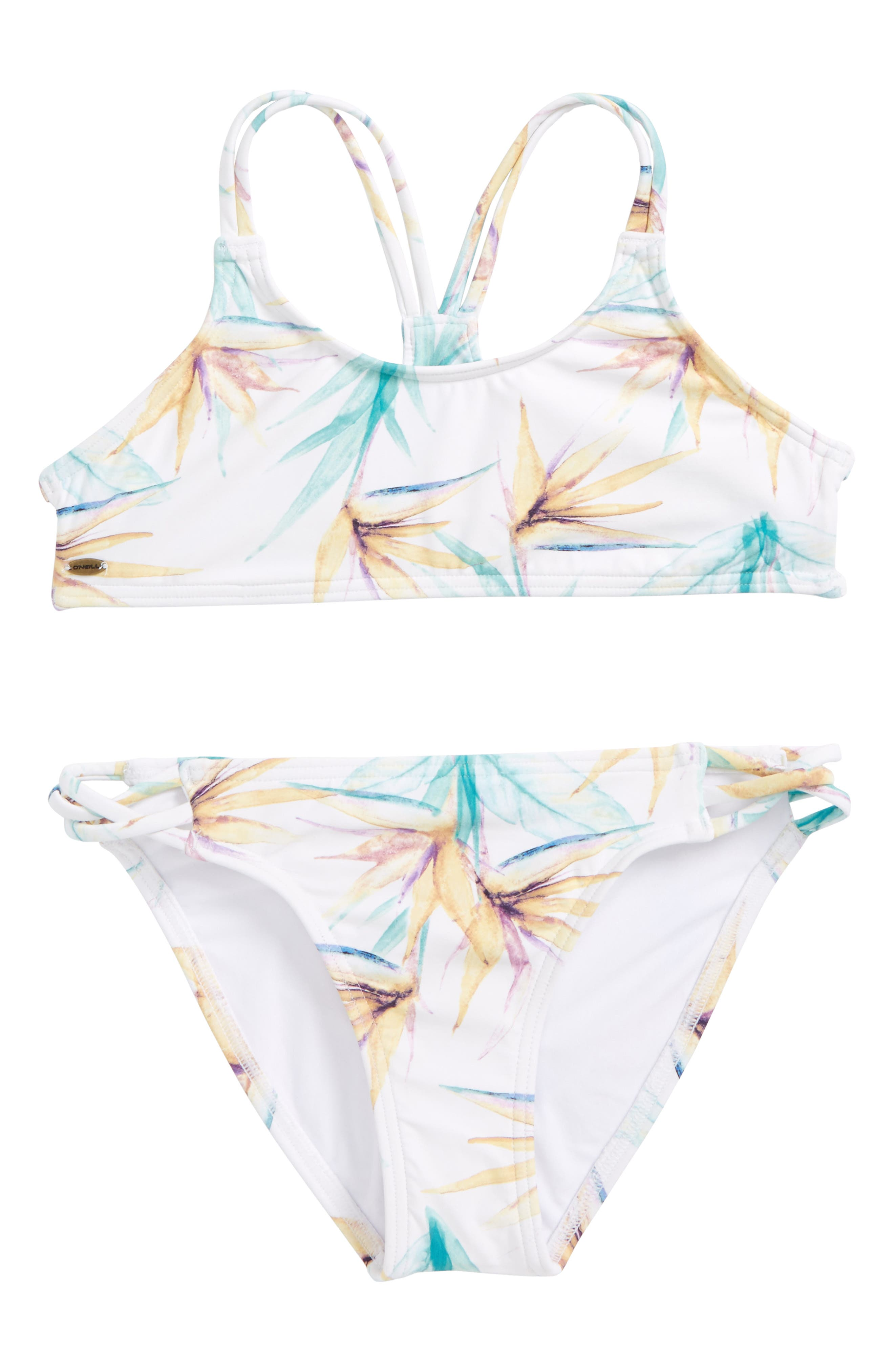 O'Neill Paradise Two-Piece Swimsuit (Big Girls)