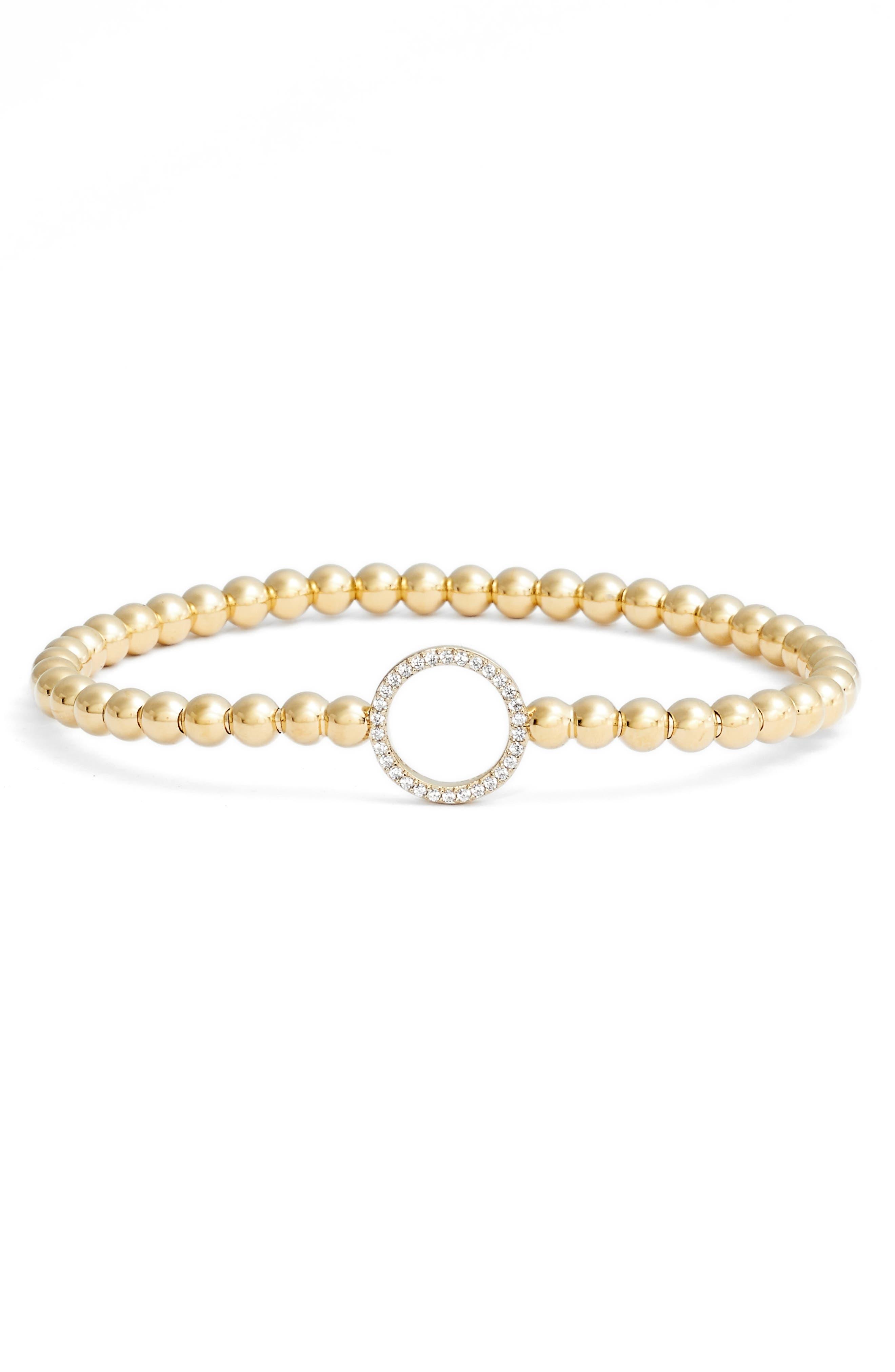 Nadri Cubic Zirconia Circle Bracelet