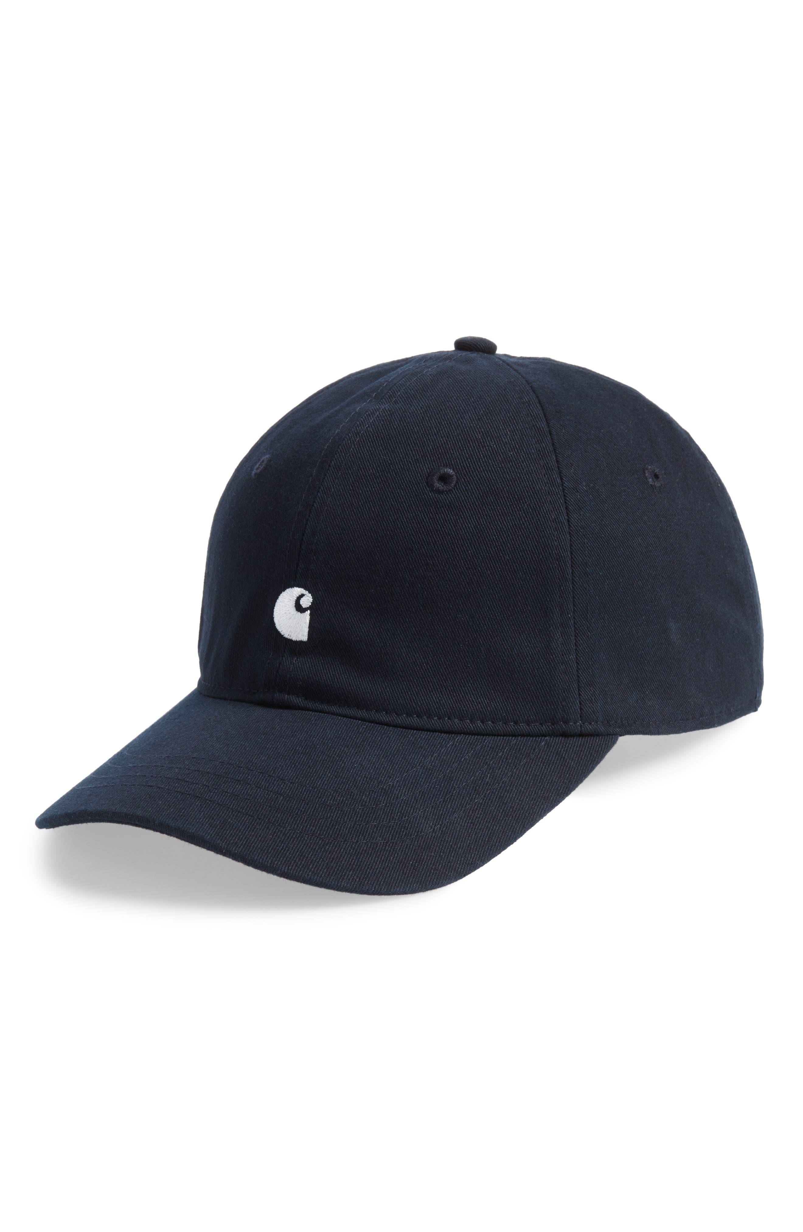 Madison Baseball Cap,                         Main,                         color, 1C00-Dark Navy/Black