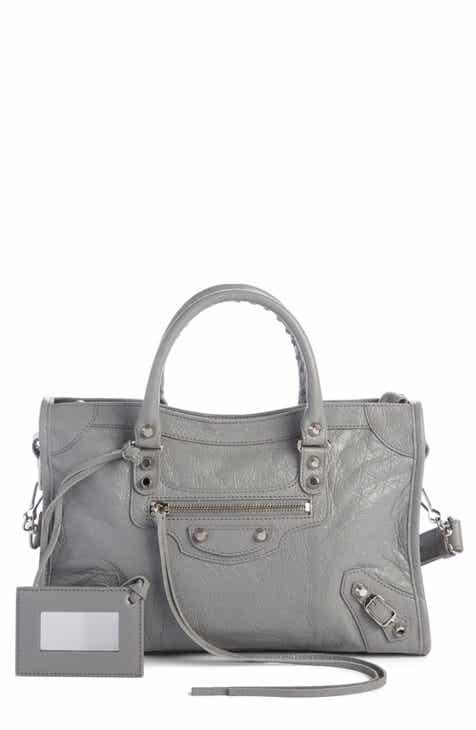 3a011b9f28fa Balenciaga Small Classic Metallic Edge City Leather Tote