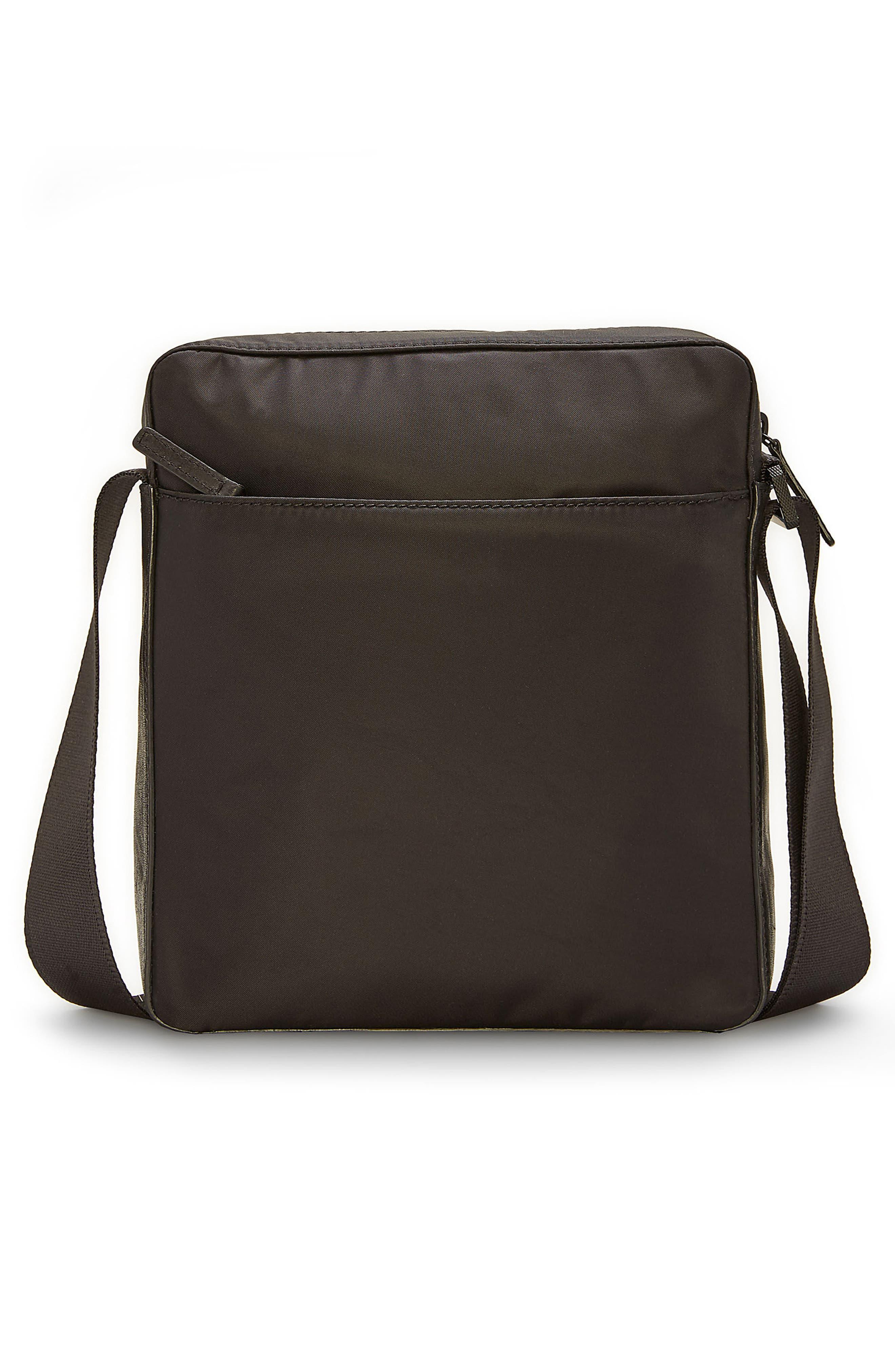 Basin Crossbody Bag,                             Alternate thumbnail 3, color,                             Black