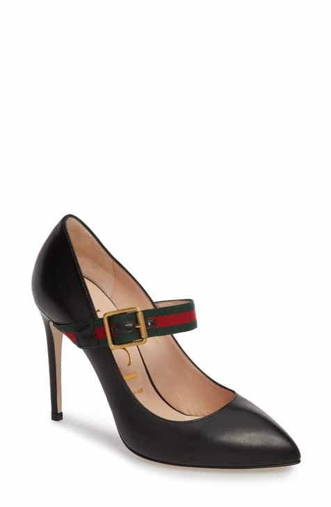 2bce8c3109b Gucci Sylvie Mary Jane Pump (Women)