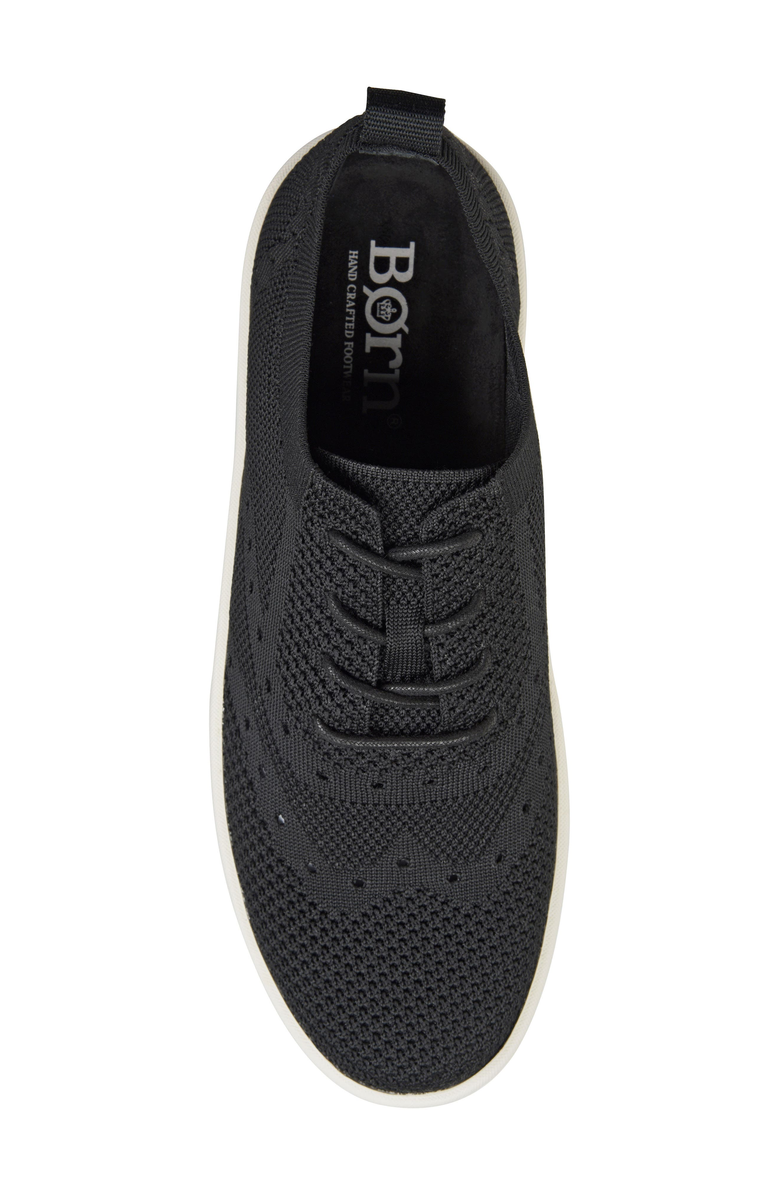 Bearse Sneaker,                             Alternate thumbnail 5, color,                             Black Knit