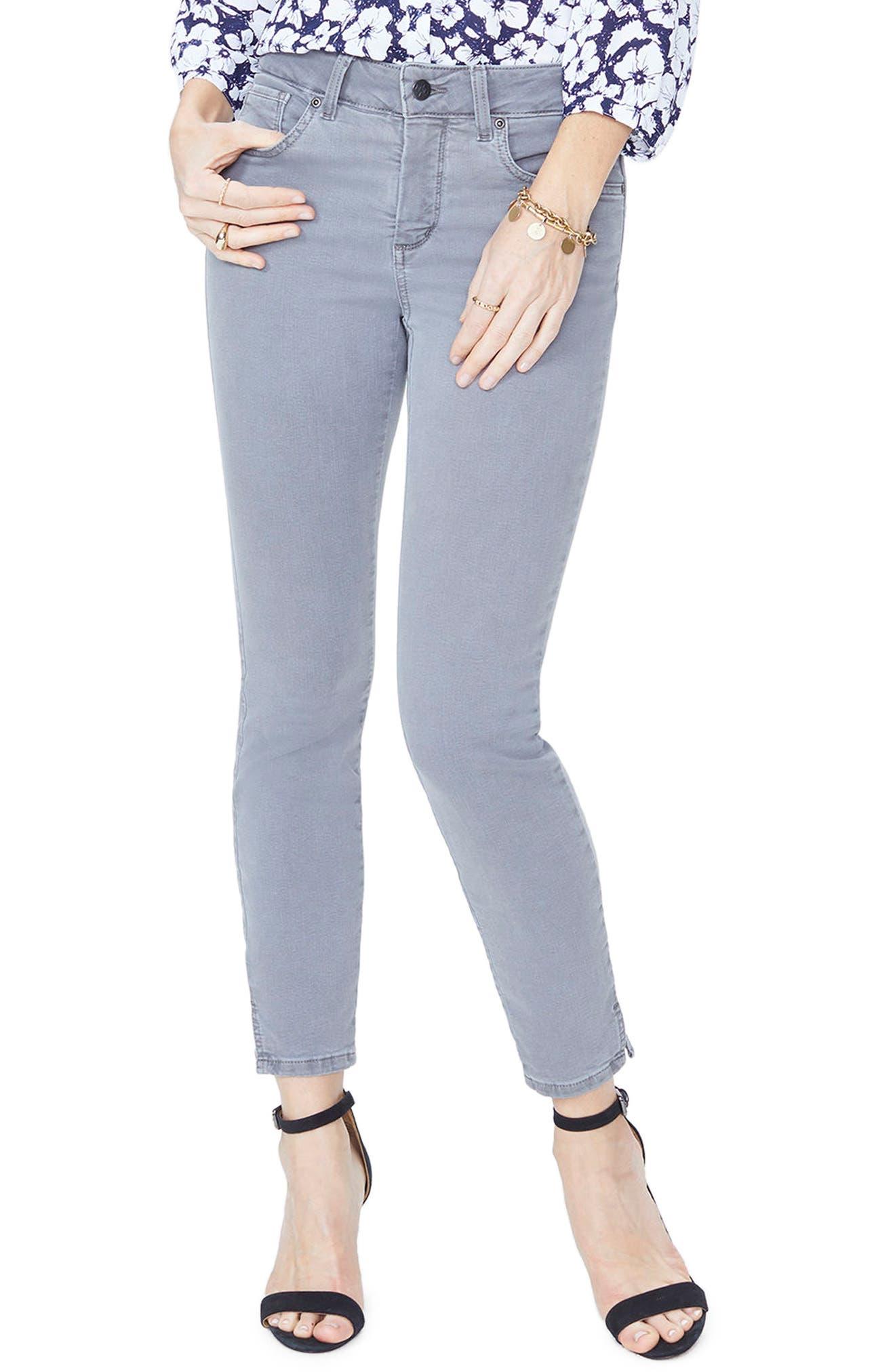 Alternate Image 1 Selected - NYDJ Ami Stretch Ankle Skinny Jeans (Regular & Petite)
