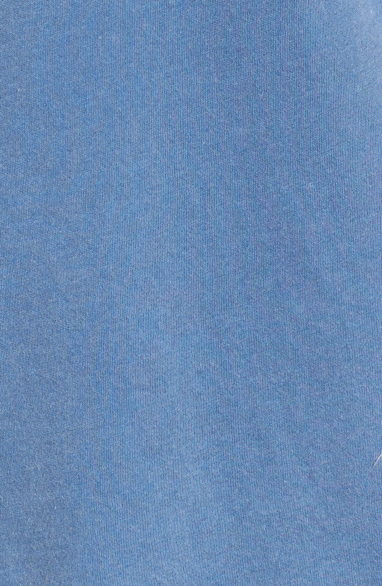 Layered Tee,                             Alternate thumbnail 5, color,                             Vintage Blue