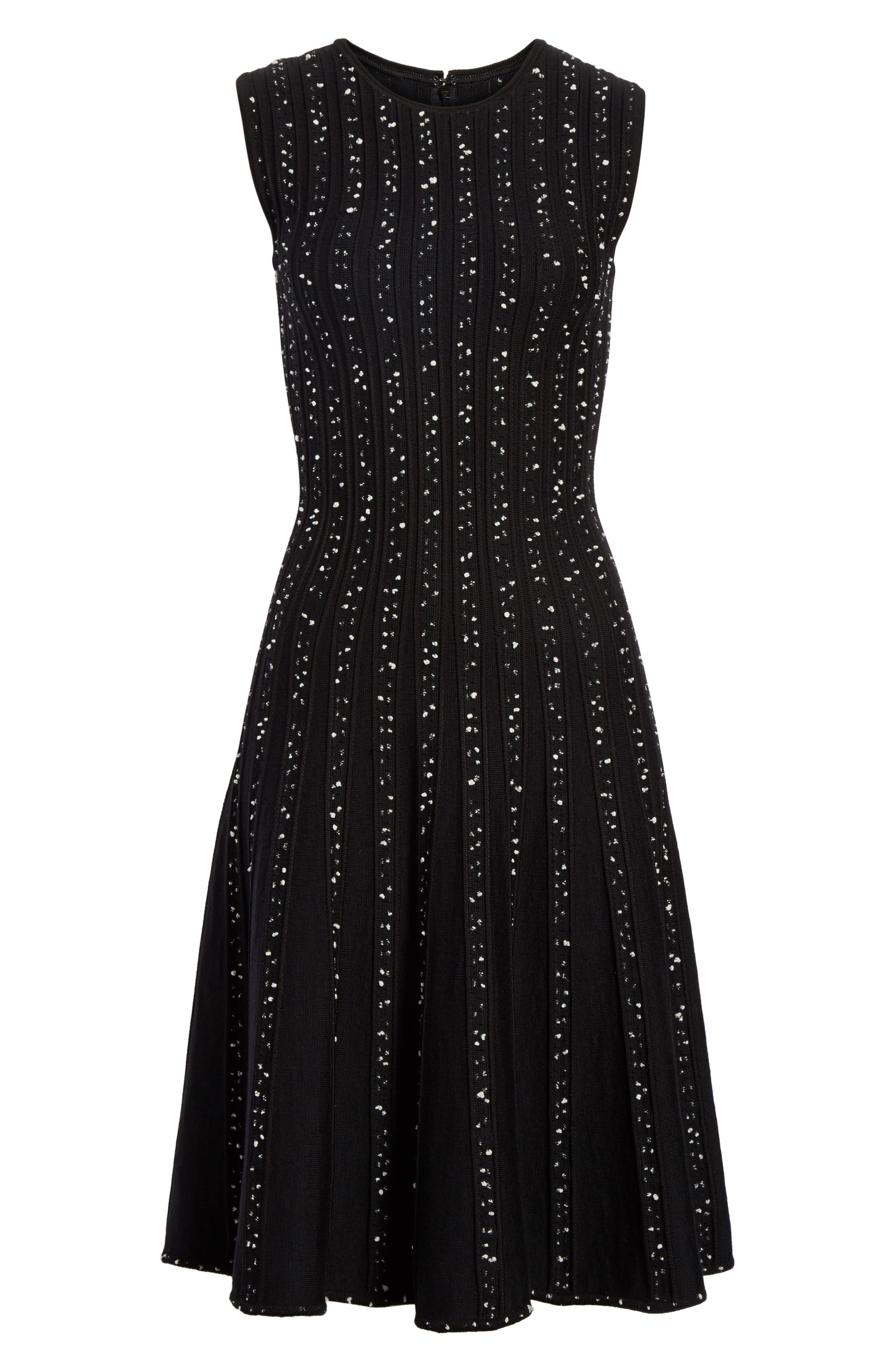 Alternate Image 6  - Jason Wu Polka Dot Wool Blend Fit & Flare Dress