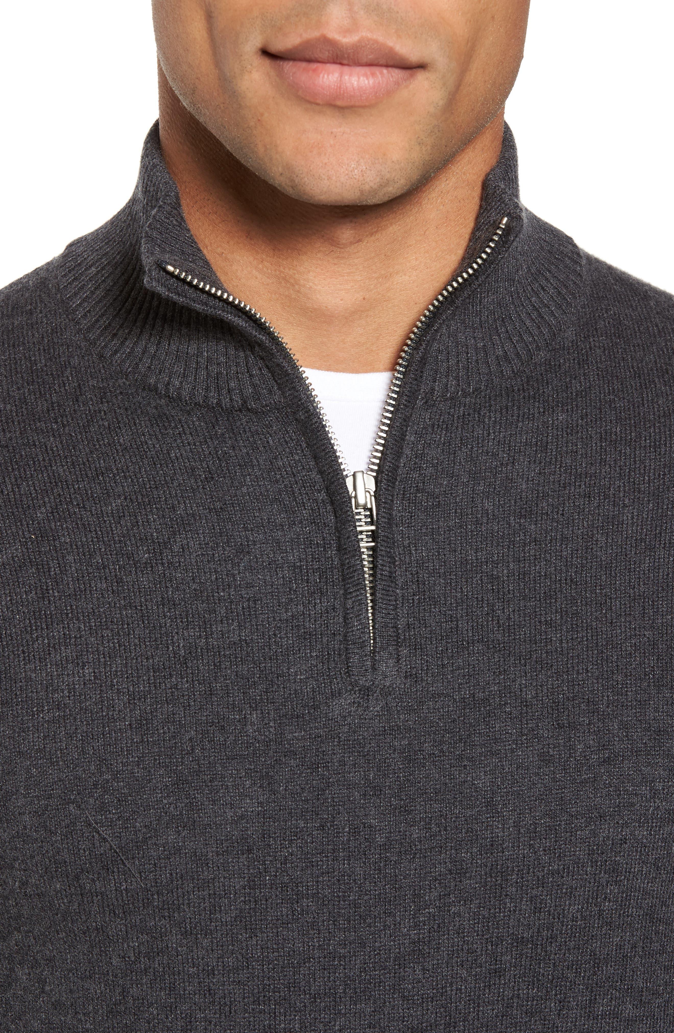 Alternate Image 4  - Bonobos Cotton & Cashmere Quarter Zip Sweater