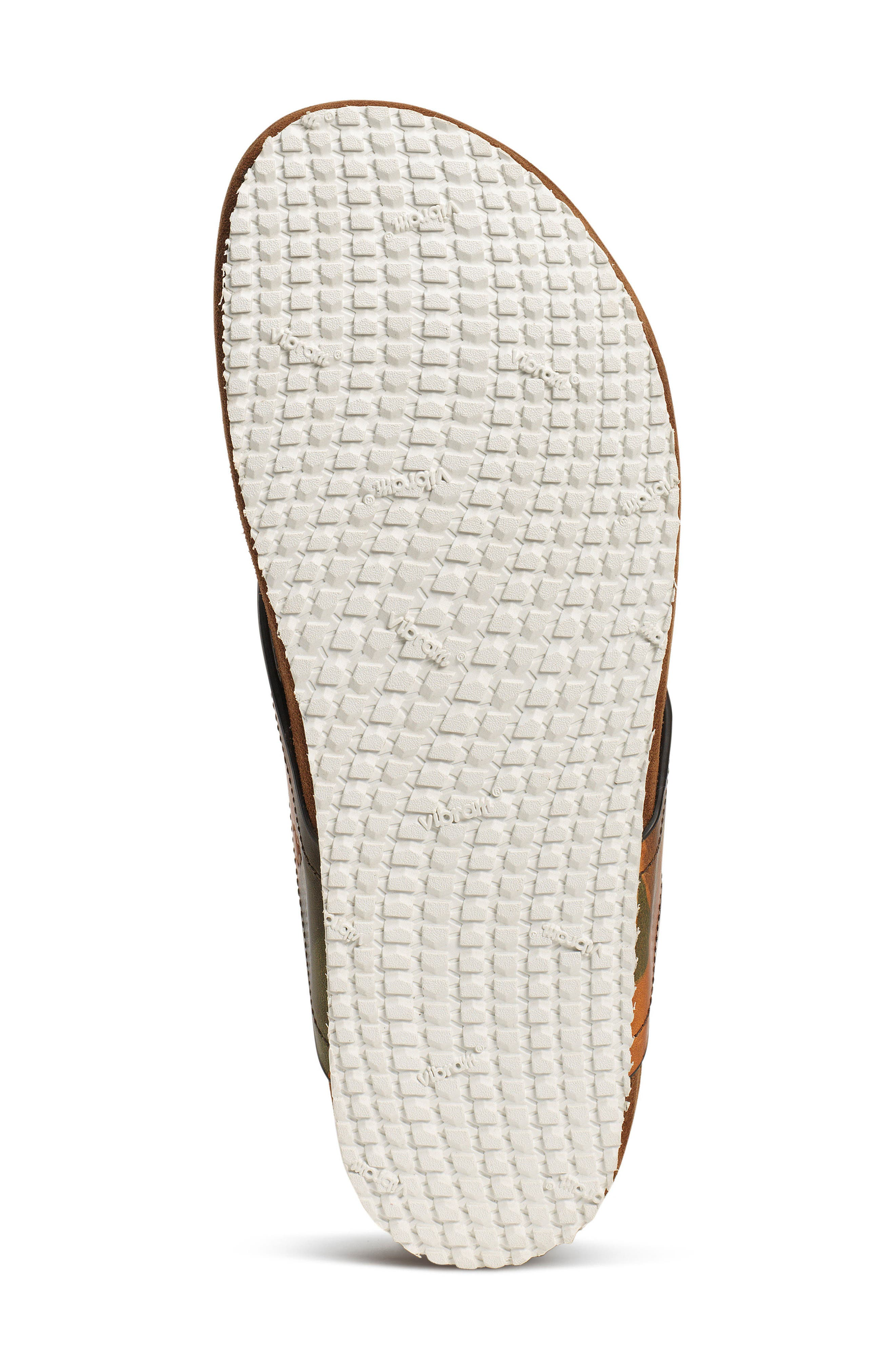 Fleming Flip Flop,                             Alternate thumbnail 5, color,                             Camoflage Leather