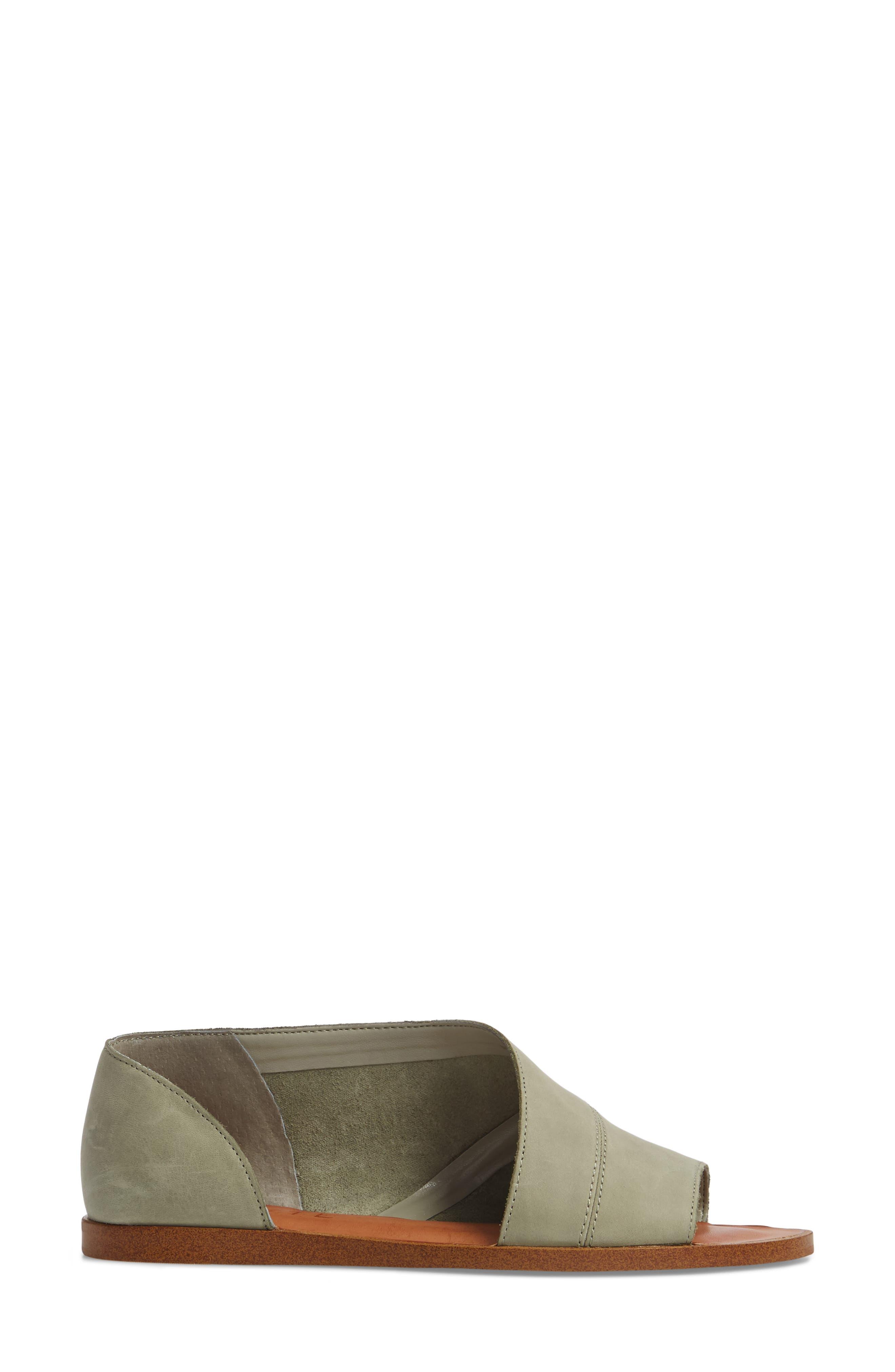 Celvin Sandal,                             Alternate thumbnail 3, color,                             Nettle Leather
