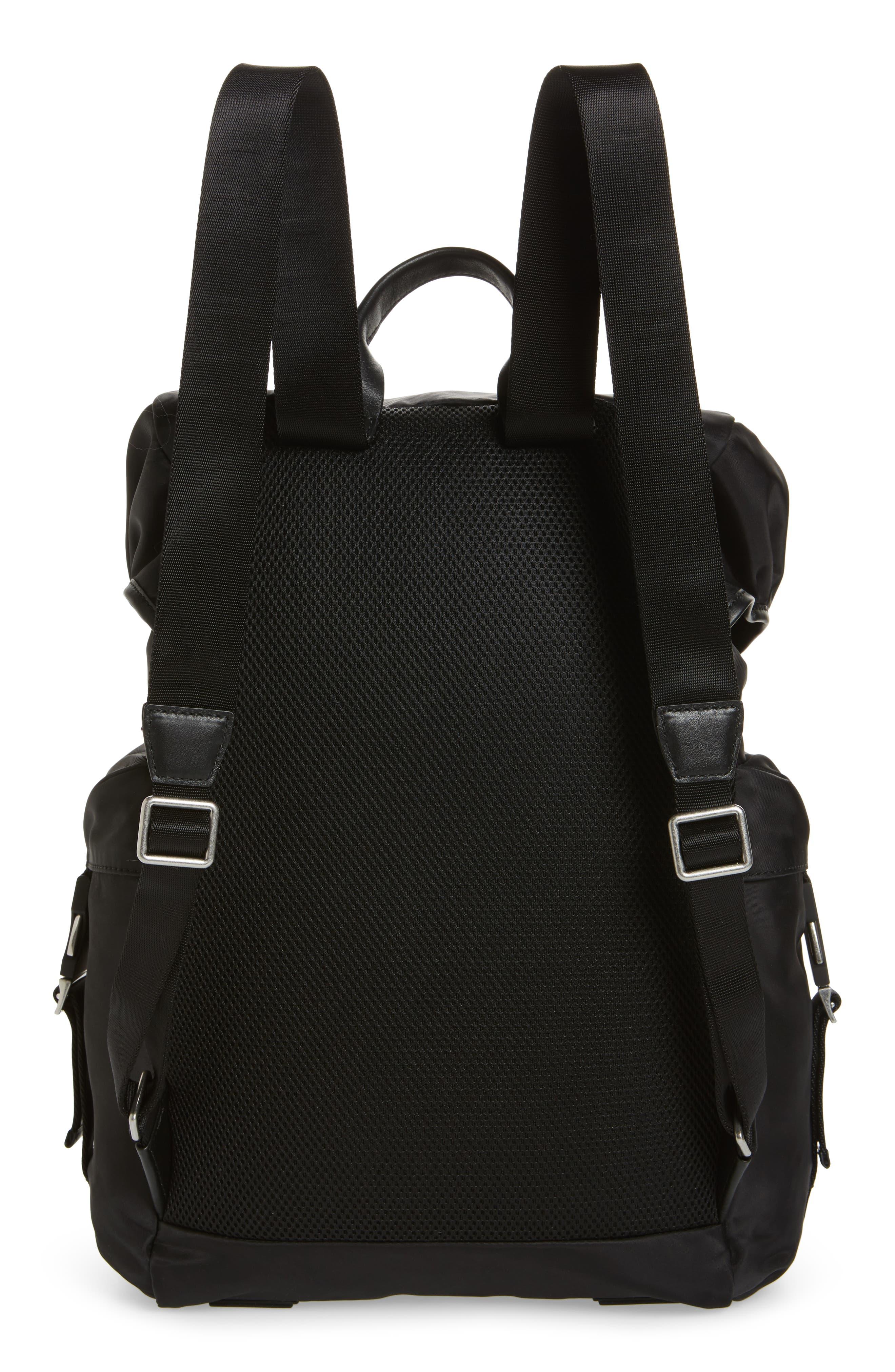 City Backpack,                             Alternate thumbnail 3, color,                             Black