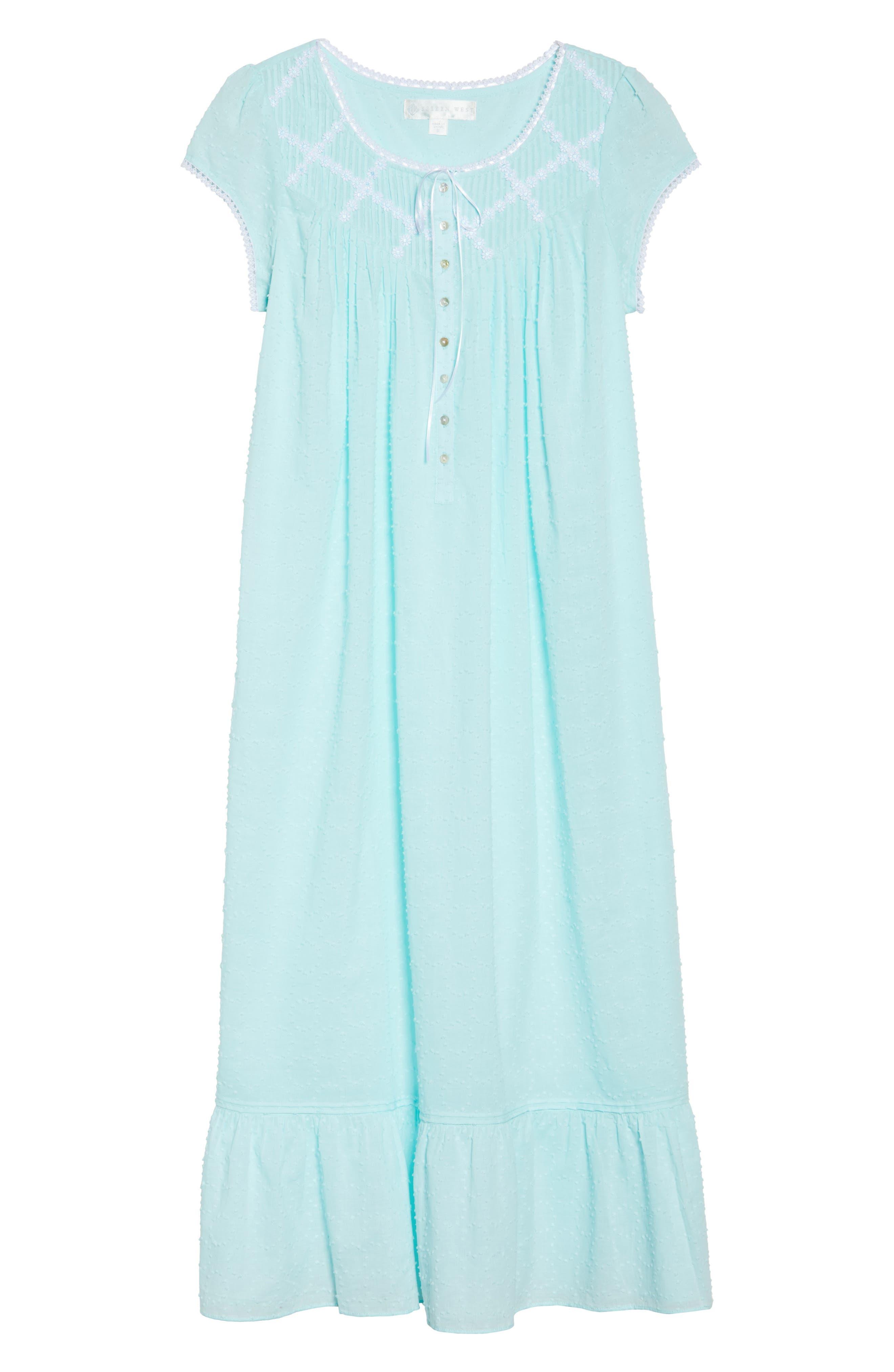 Alternate Image 4  - Eileen West Cotton Ballet Nightgown
