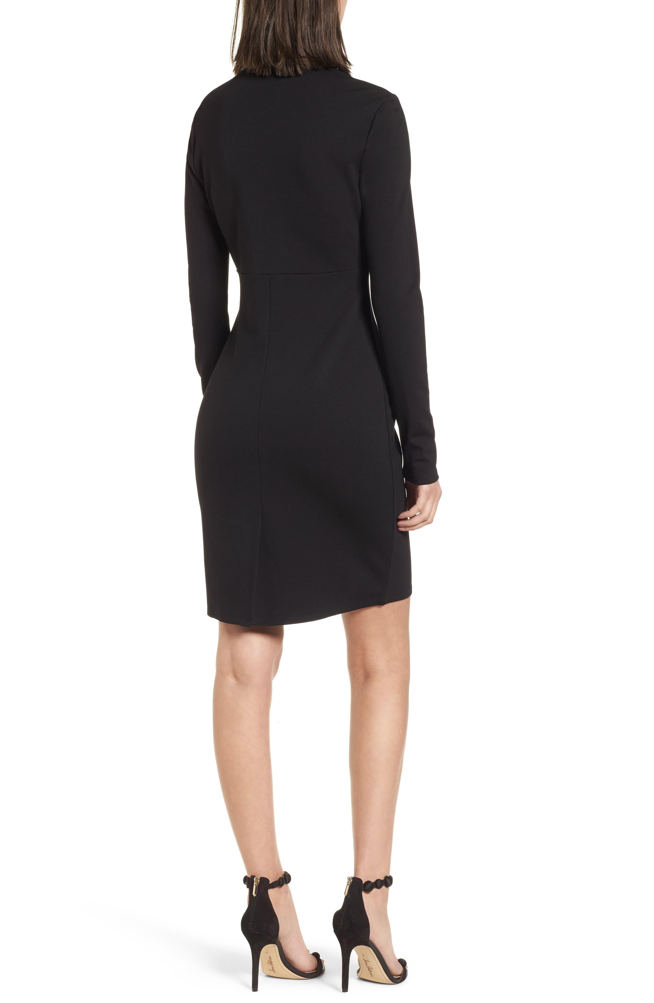 Alternate Image 2  - Leith V-Neck Body-Con Dress