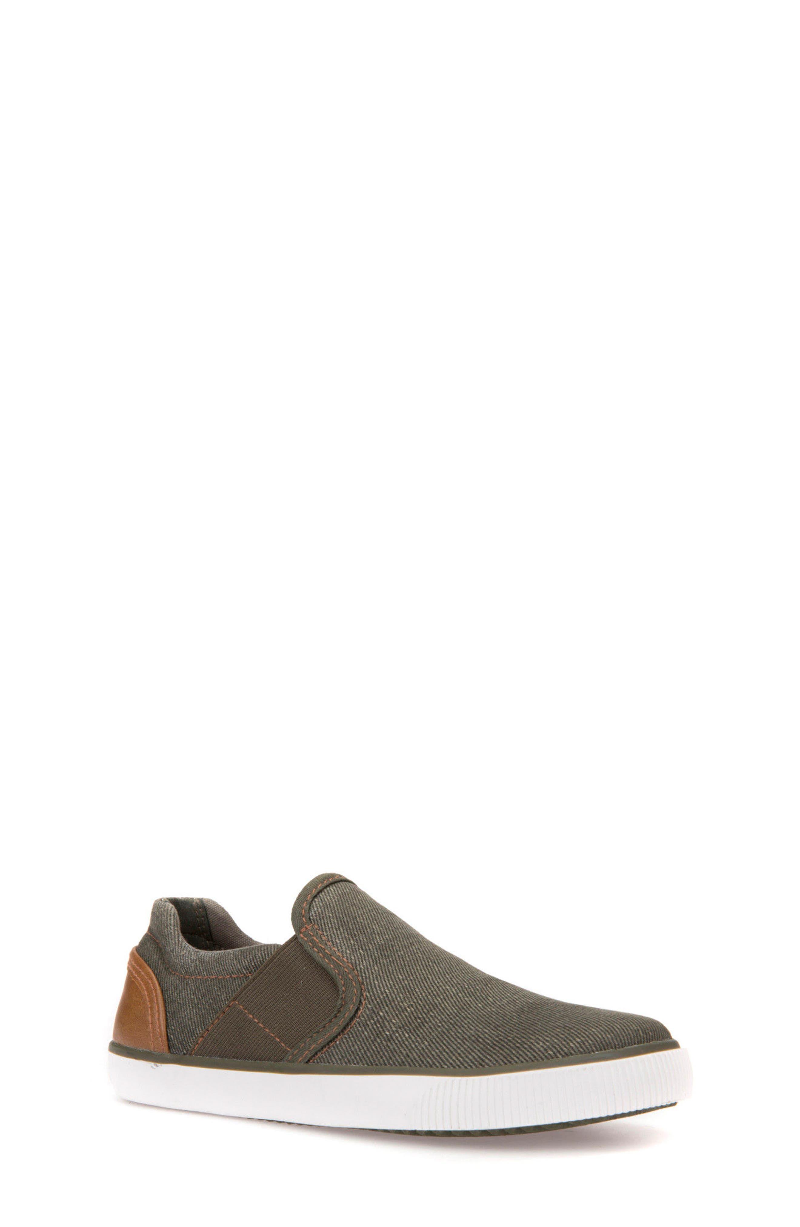 Kilwi Slip-On Sneaker,                             Main thumbnail 1, color,                             Military/ Light Brown