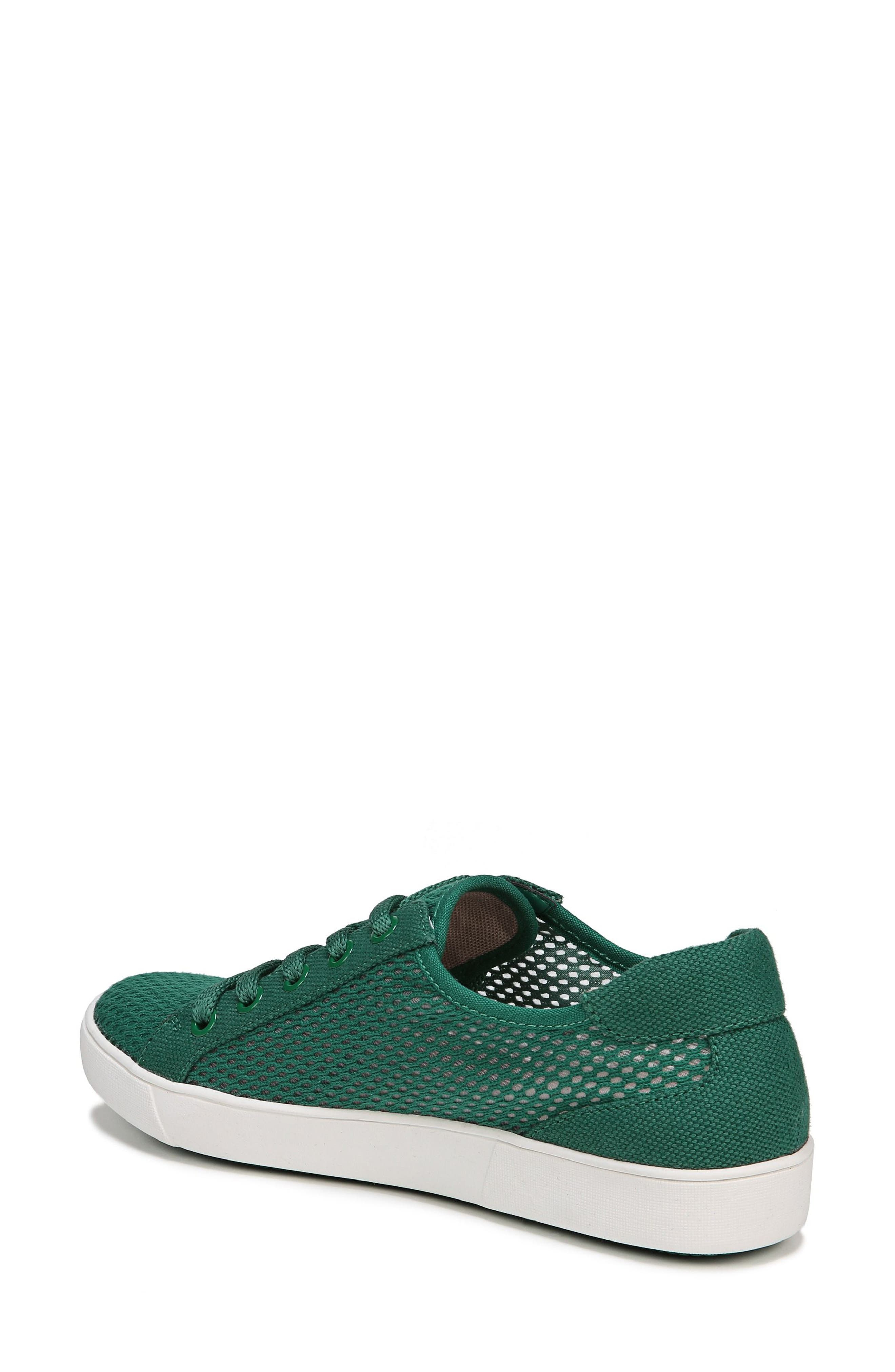 Morrison III Perforated Sneaker,                             Alternate thumbnail 2, color,                             Green Leather