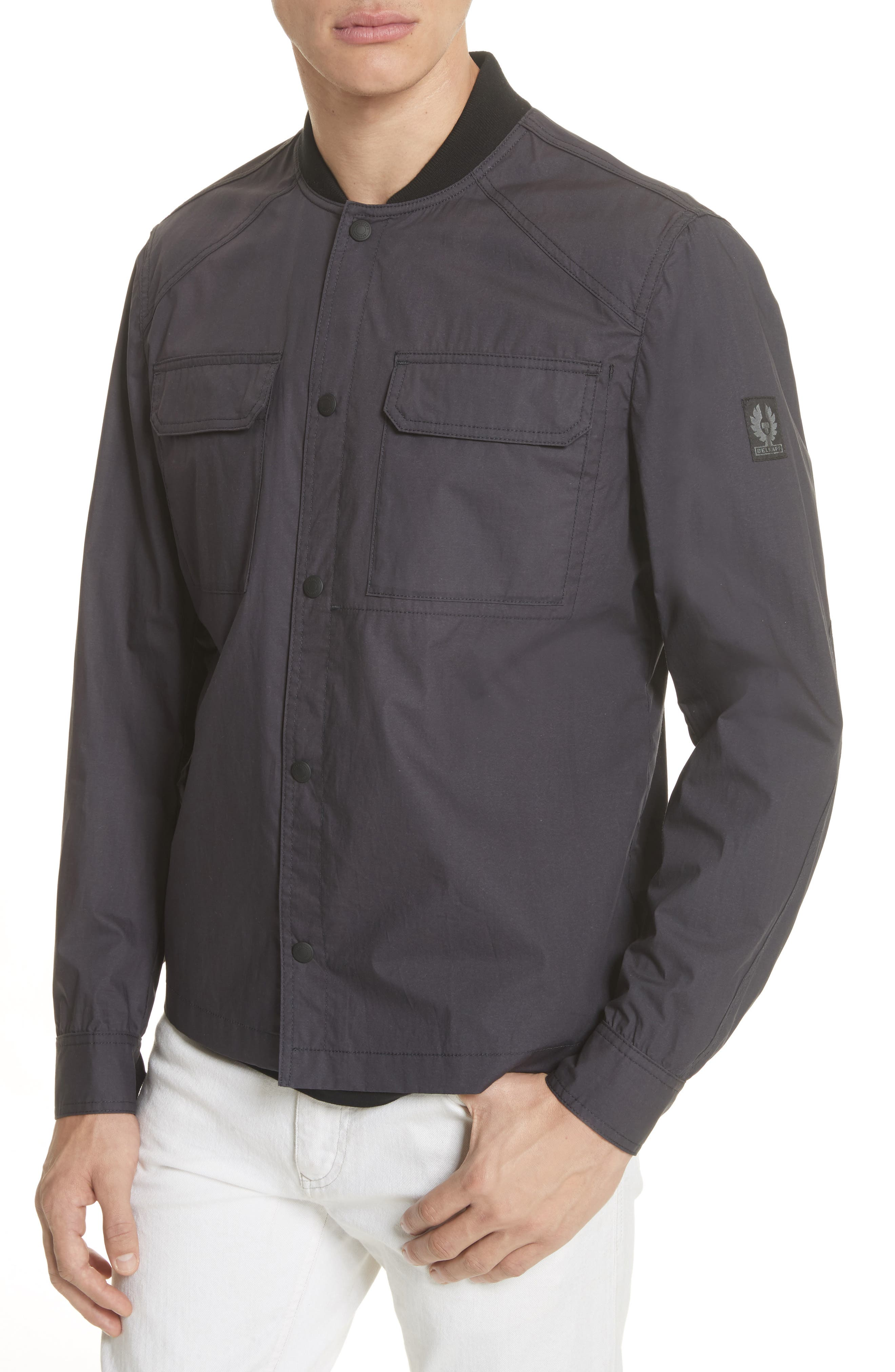 Cardingham Jacket,                             Alternate thumbnail 4, color,                             Charcoal