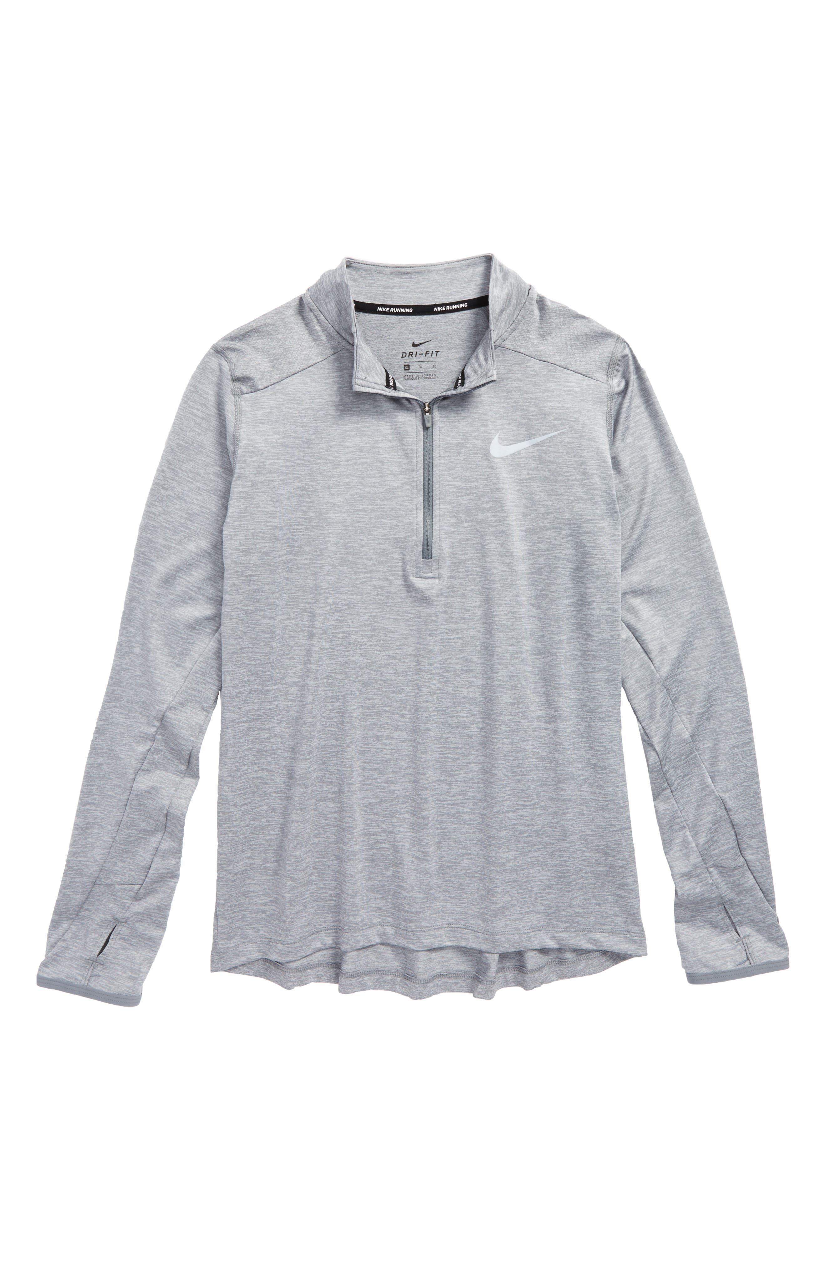 Alternate Image 1 Selected - Nike Dry Element Quarter Zip Top (Little Boys & Big Boys)