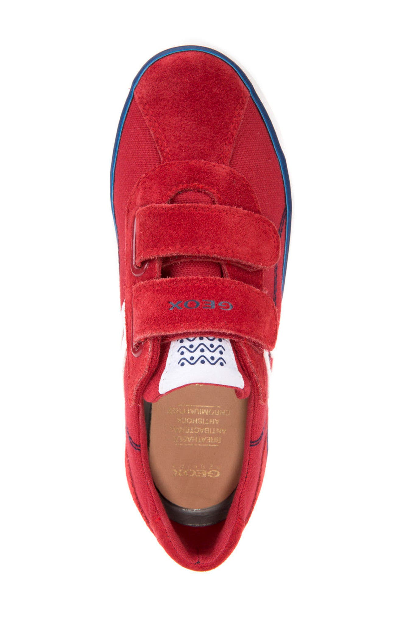 Kilwi Low Top Sneaker,                             Alternate thumbnail 5, color,                             Dark Red/ Navy