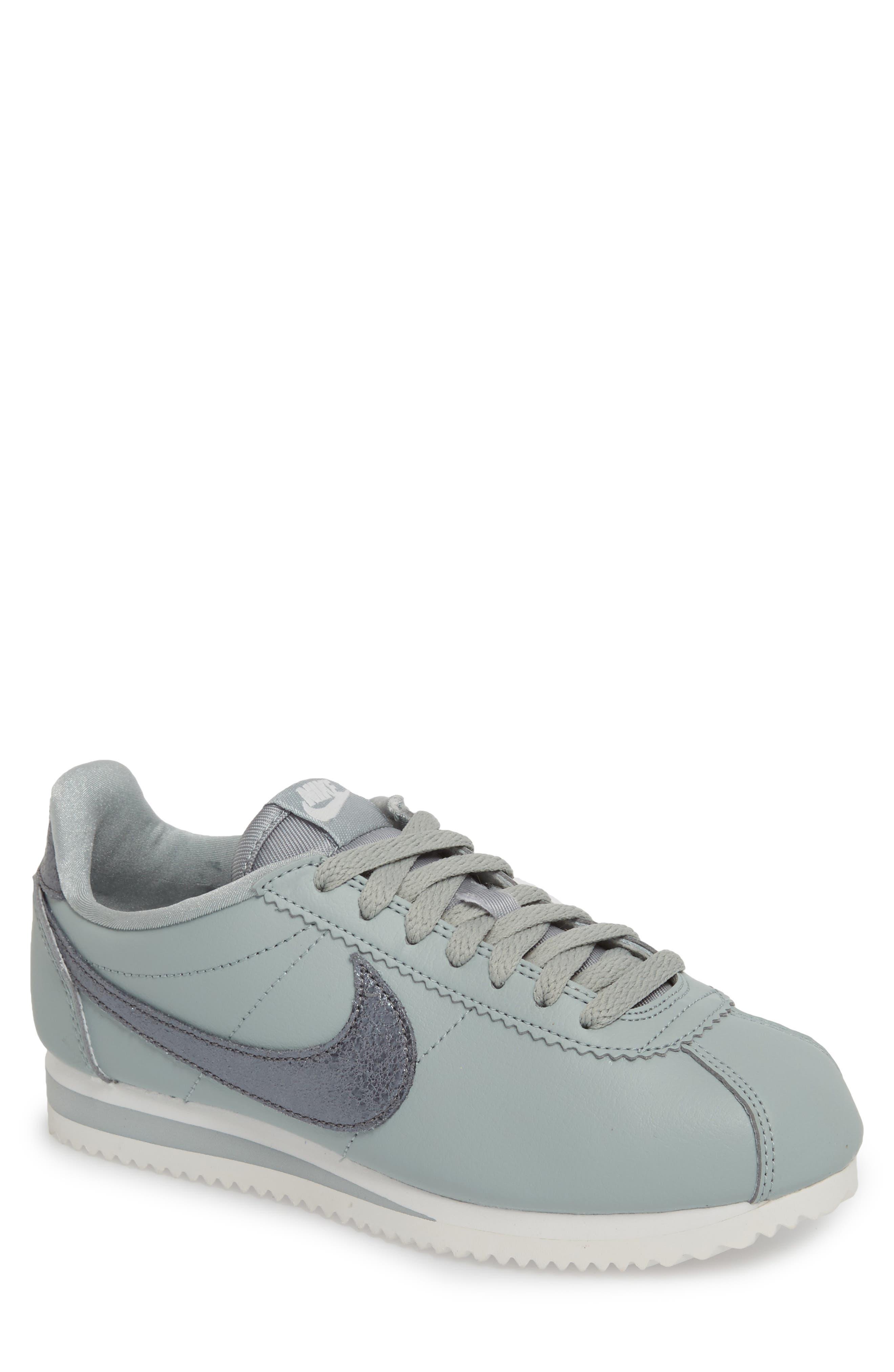 Factory Sale Cortez Running Shoe Women Womens Black/ Black/ Sail/ Gum/ Brown Nike Womens Style on a Shoestring Shoe Steals