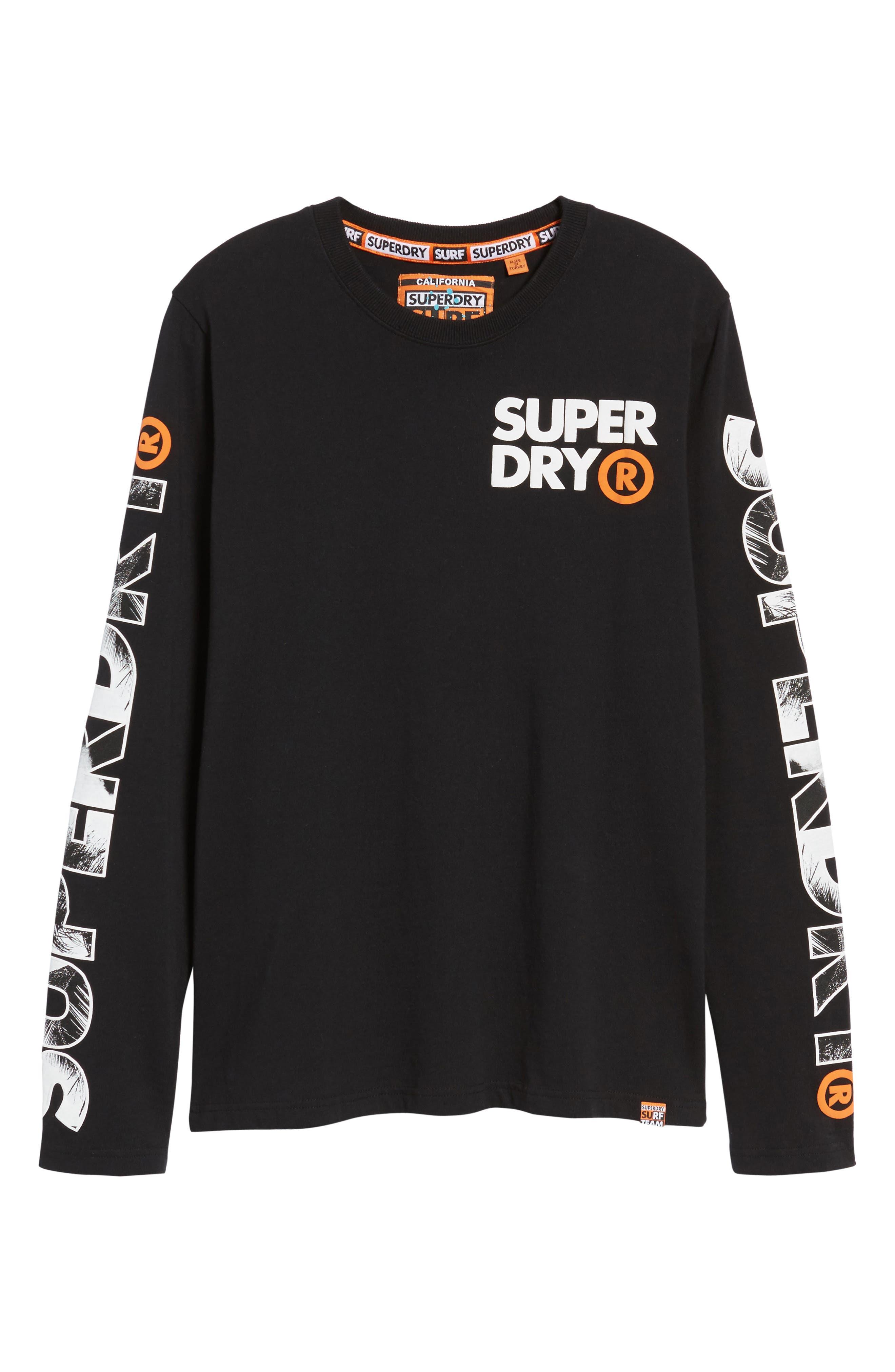 Hyper T-Shirt,                             Alternate thumbnail 6, color,                             Black