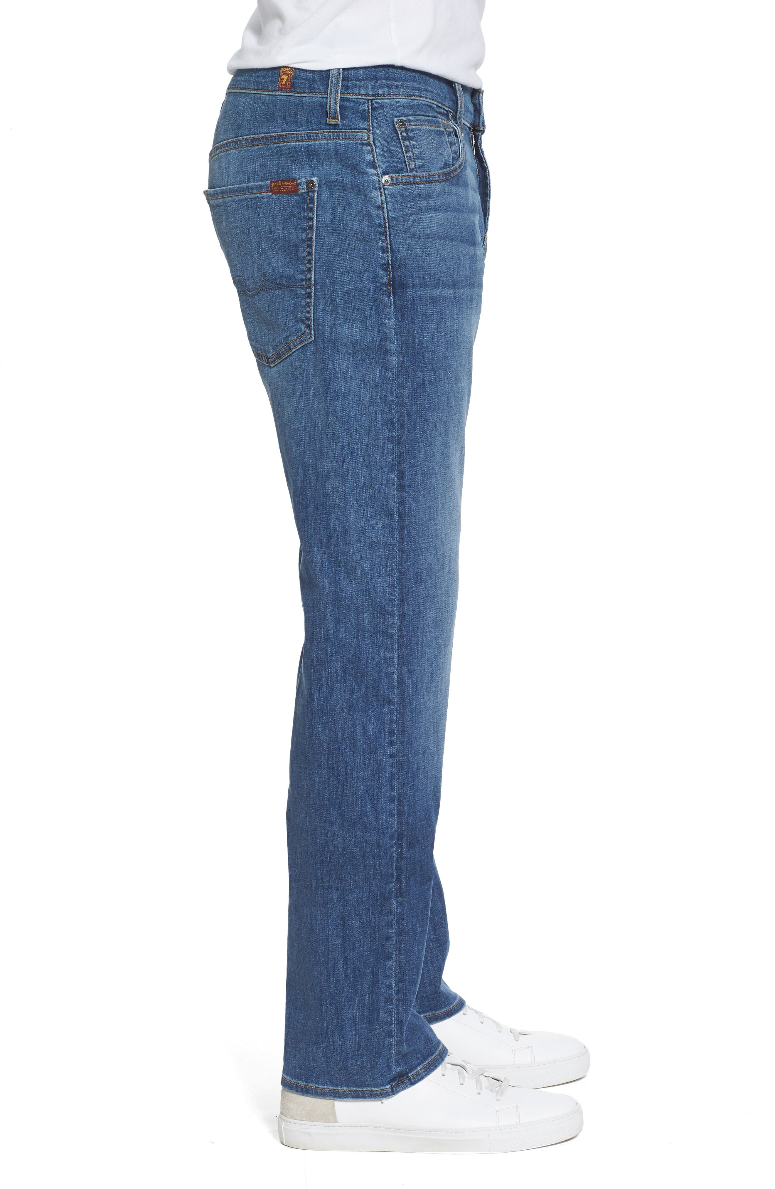 Austyn Relaxed Fit Jeans,                             Alternate thumbnail 3, color,                             Rain Shadow